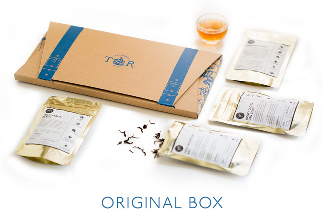 The  Original Box  contains 4 different types of teas, including pure teas, blended/flavored teas, and herbal teas. Great for gifts and exploring variety.