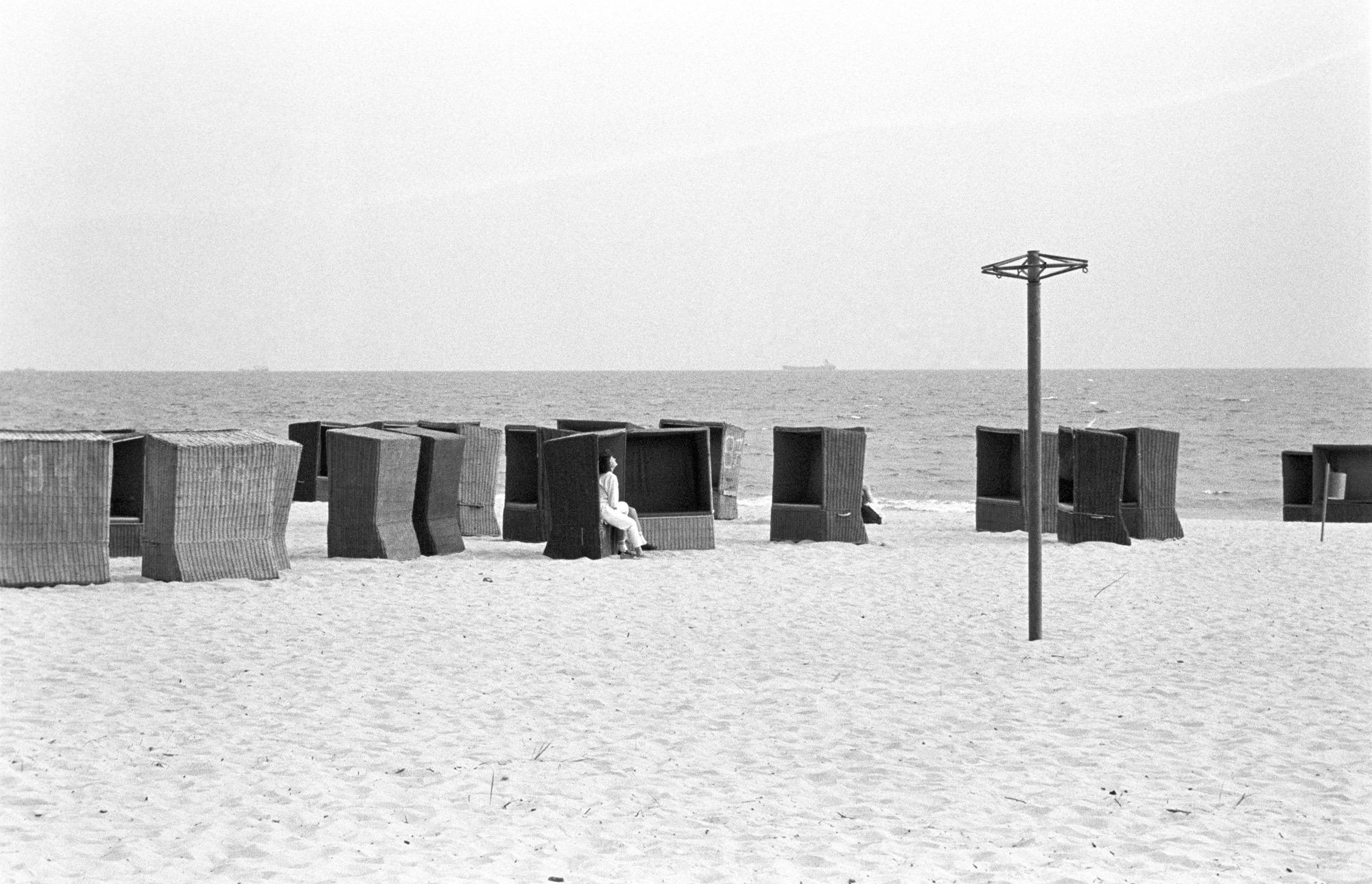 Sopot Beach, Poland 1990