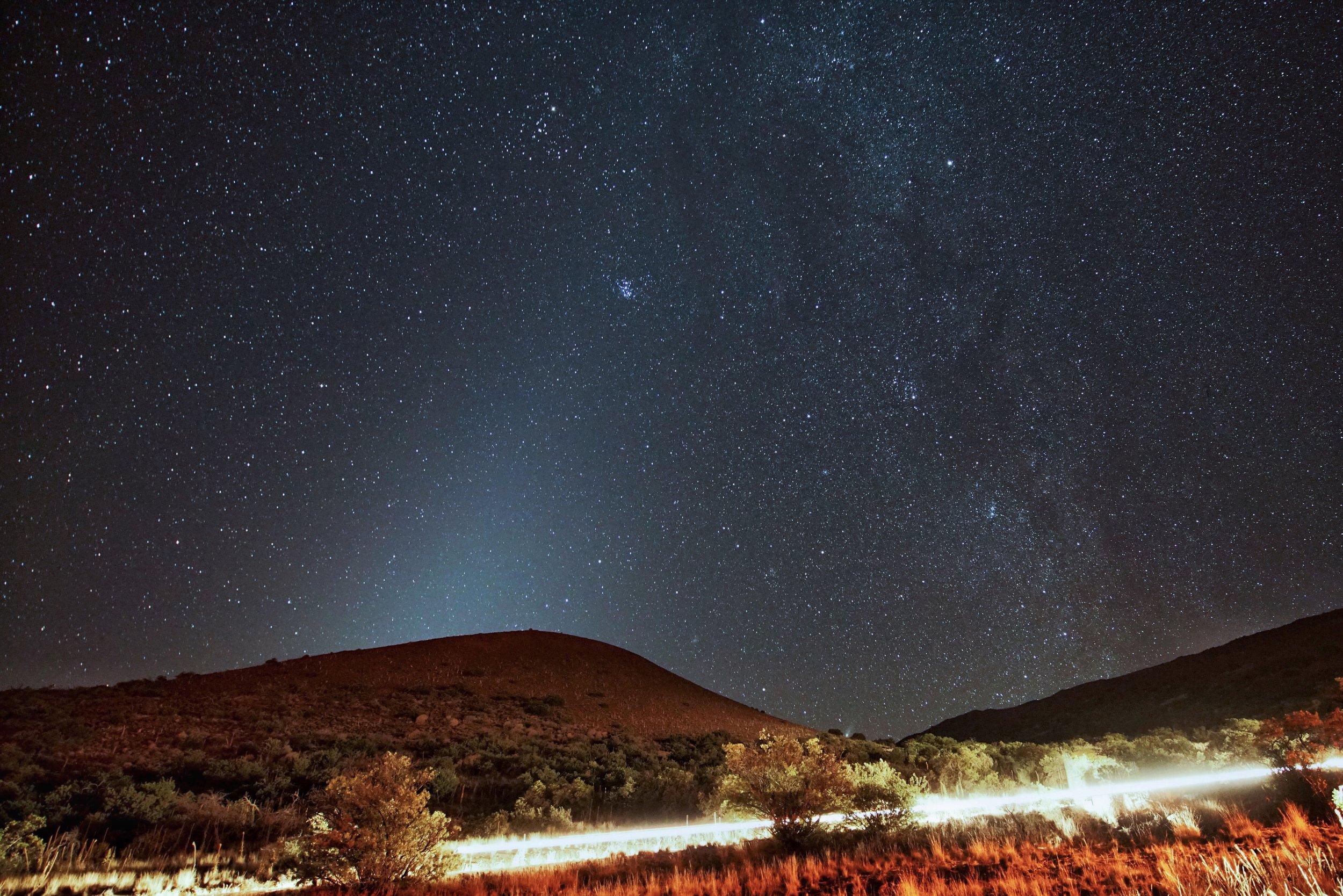 Milky Way and Zodiacal Light, from atop Mauna Kea, Hawaii