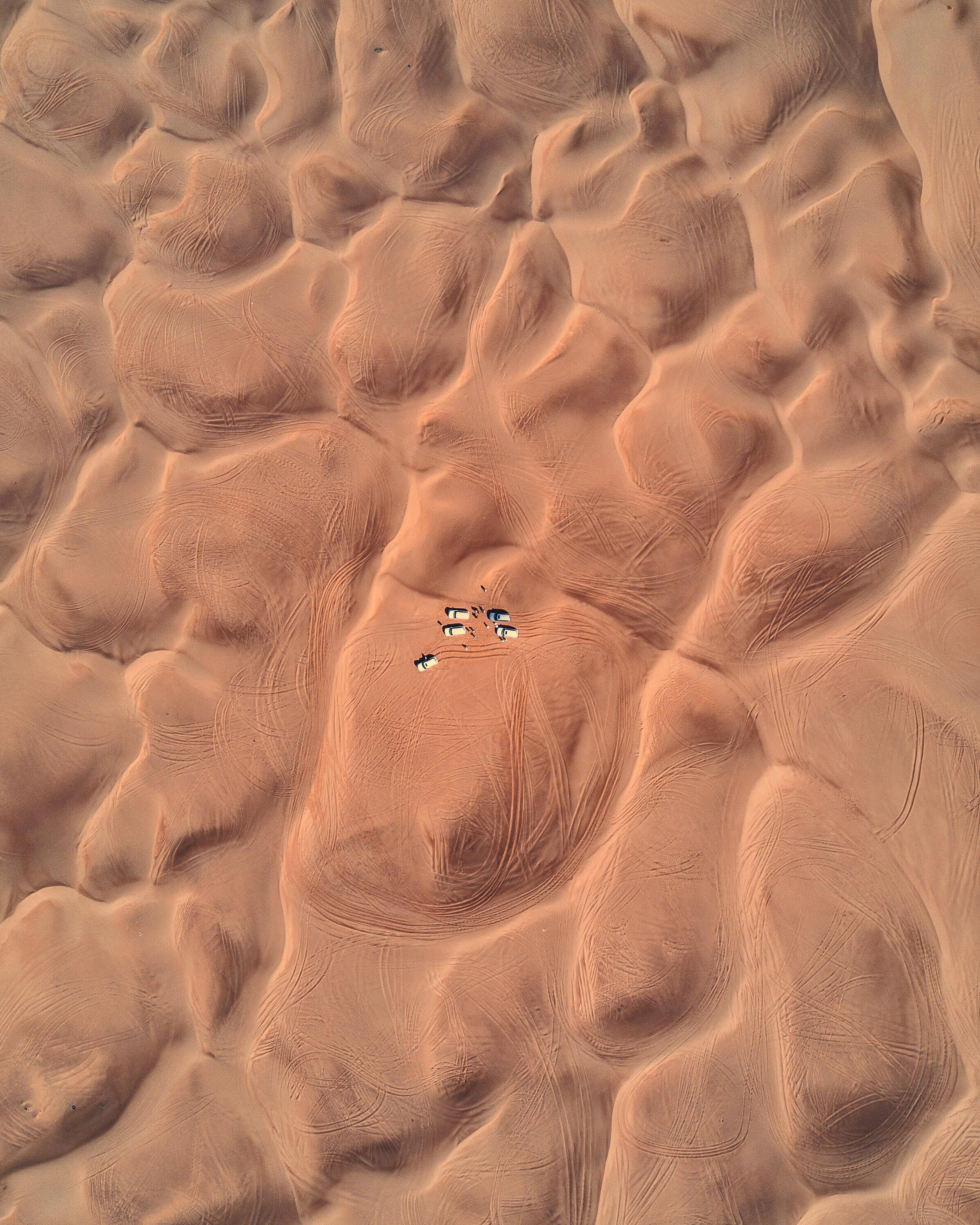 Dunes Outside Dubai