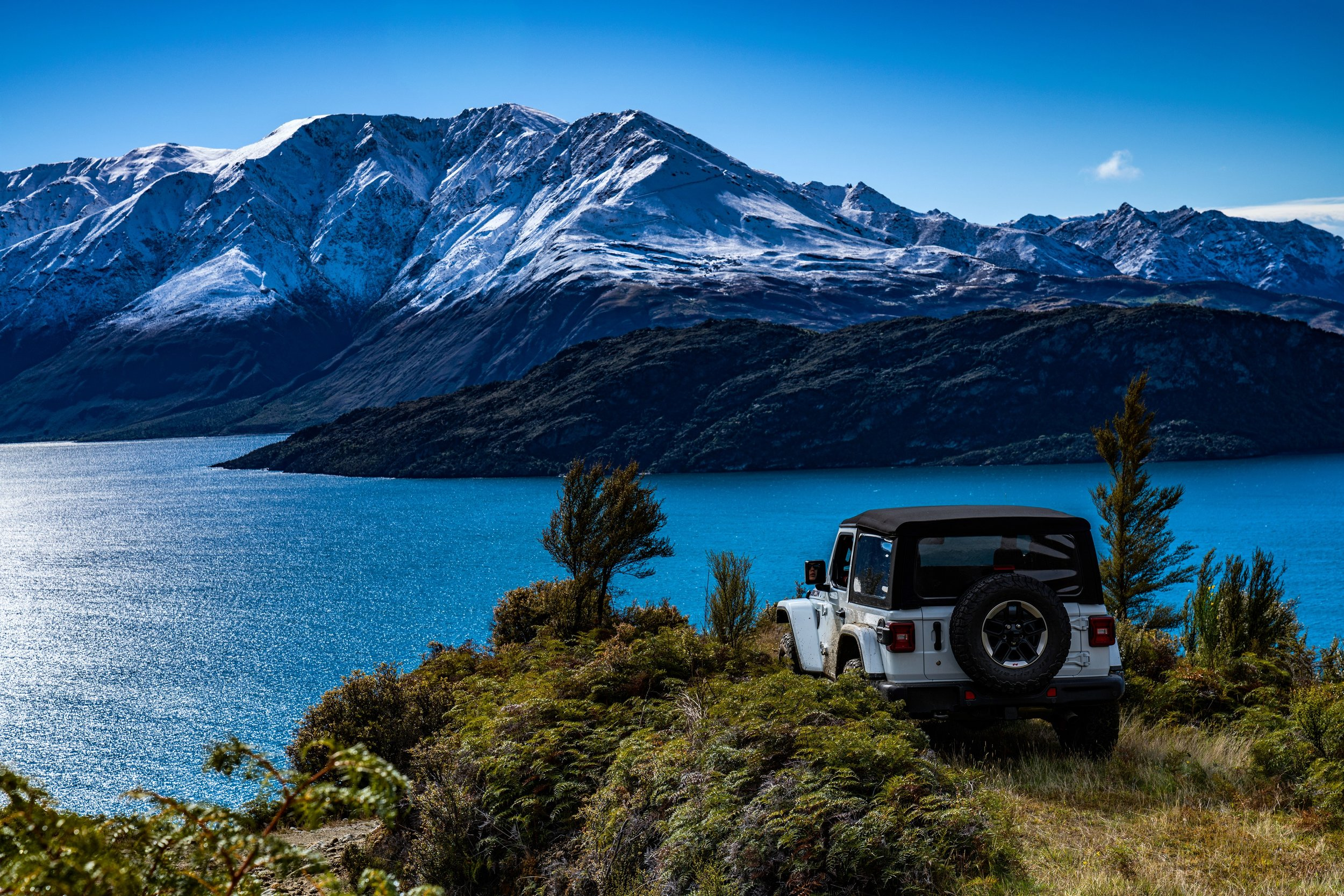 Jeep Wrangler in New Zealand