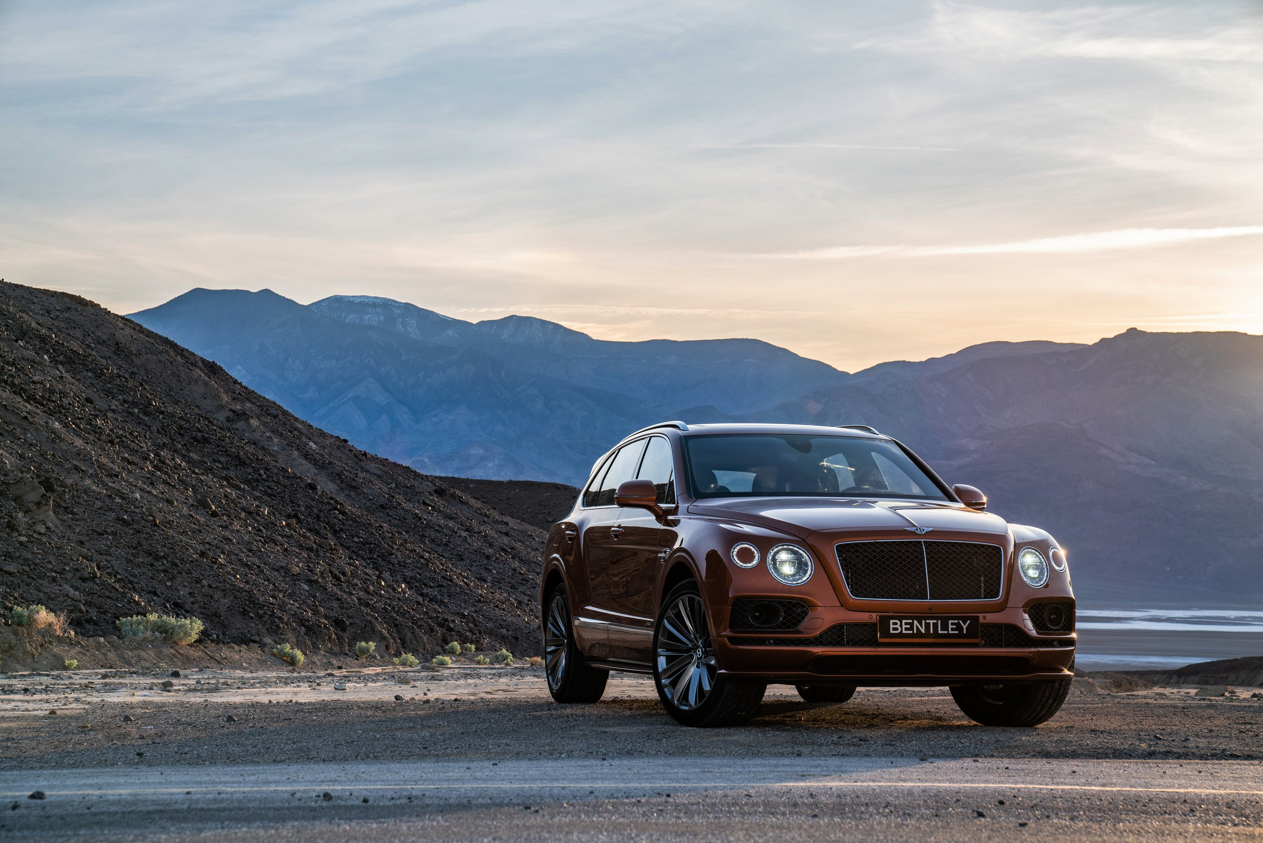 Bentley Bentayga Speed, Death Valley, CA