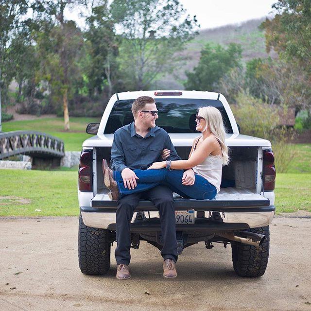 Engagement shoot with Branden & Ellisse