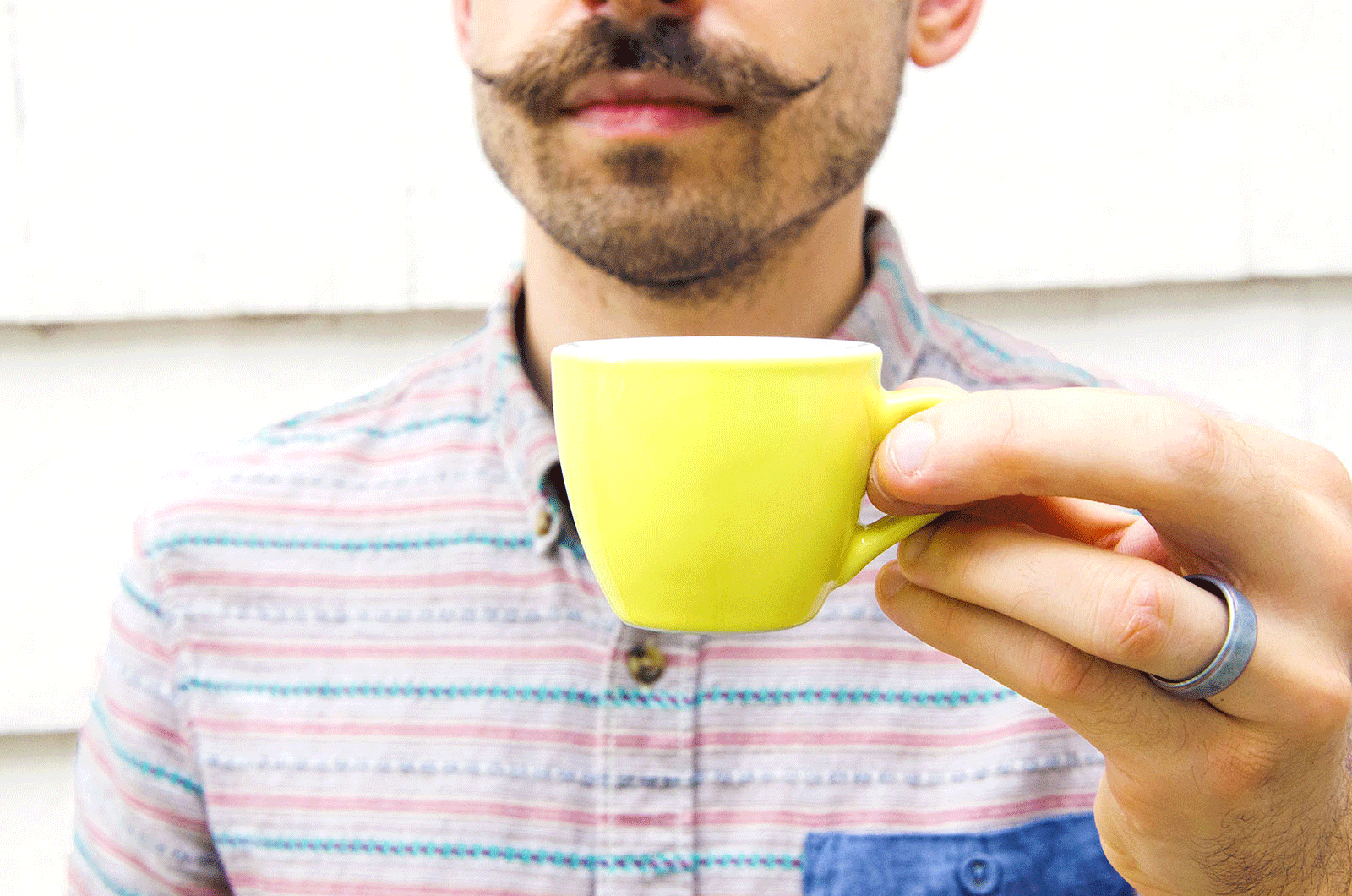effects of a mustache: altering customer perception
