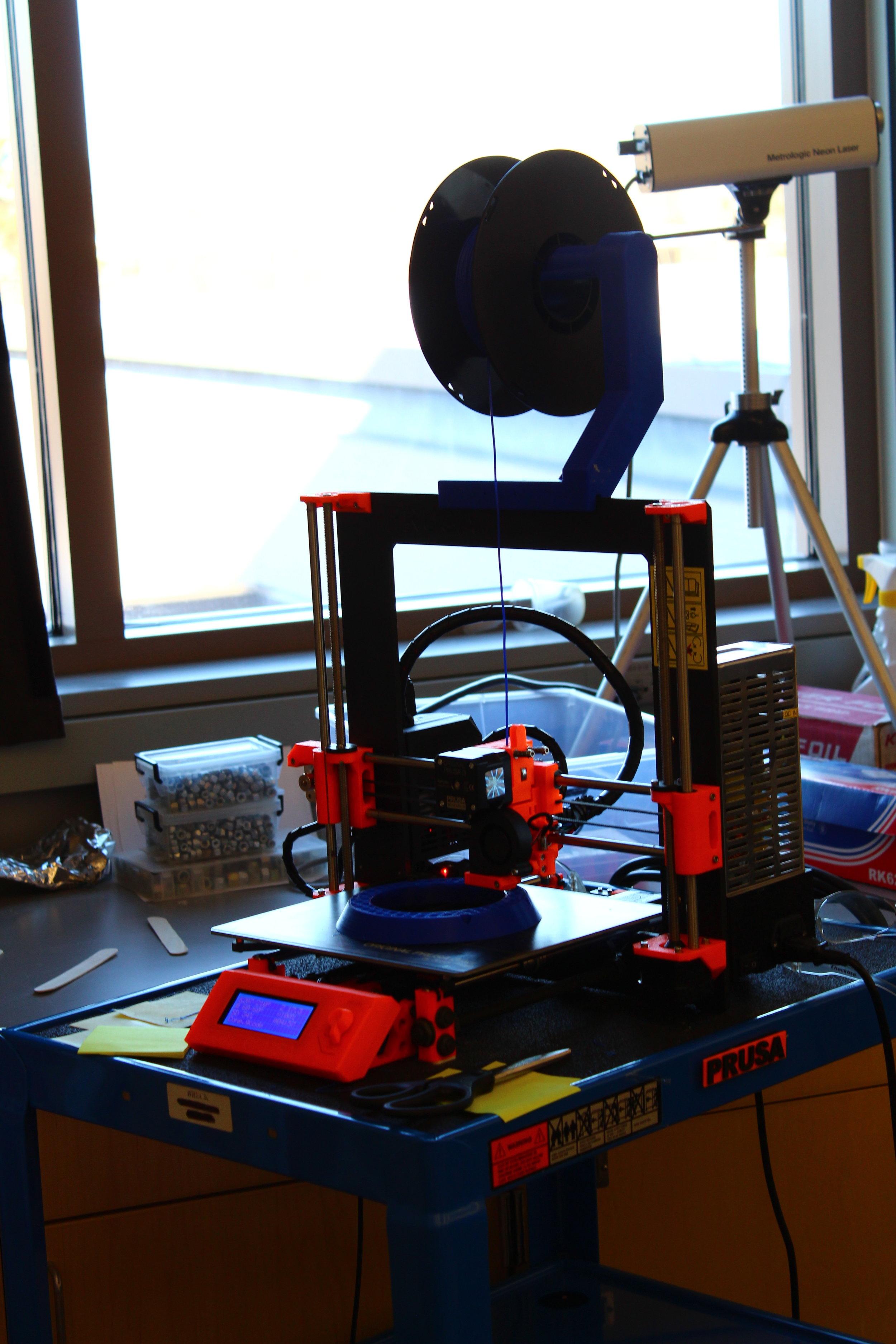 Our friend, the 3D printer
