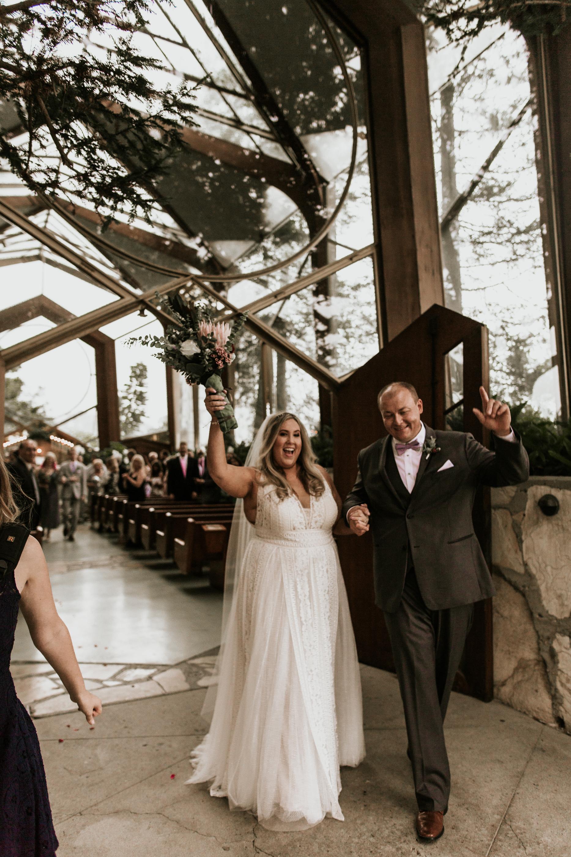 Copy of Wayfarer's Chapel Wedding by Little Boat Photography