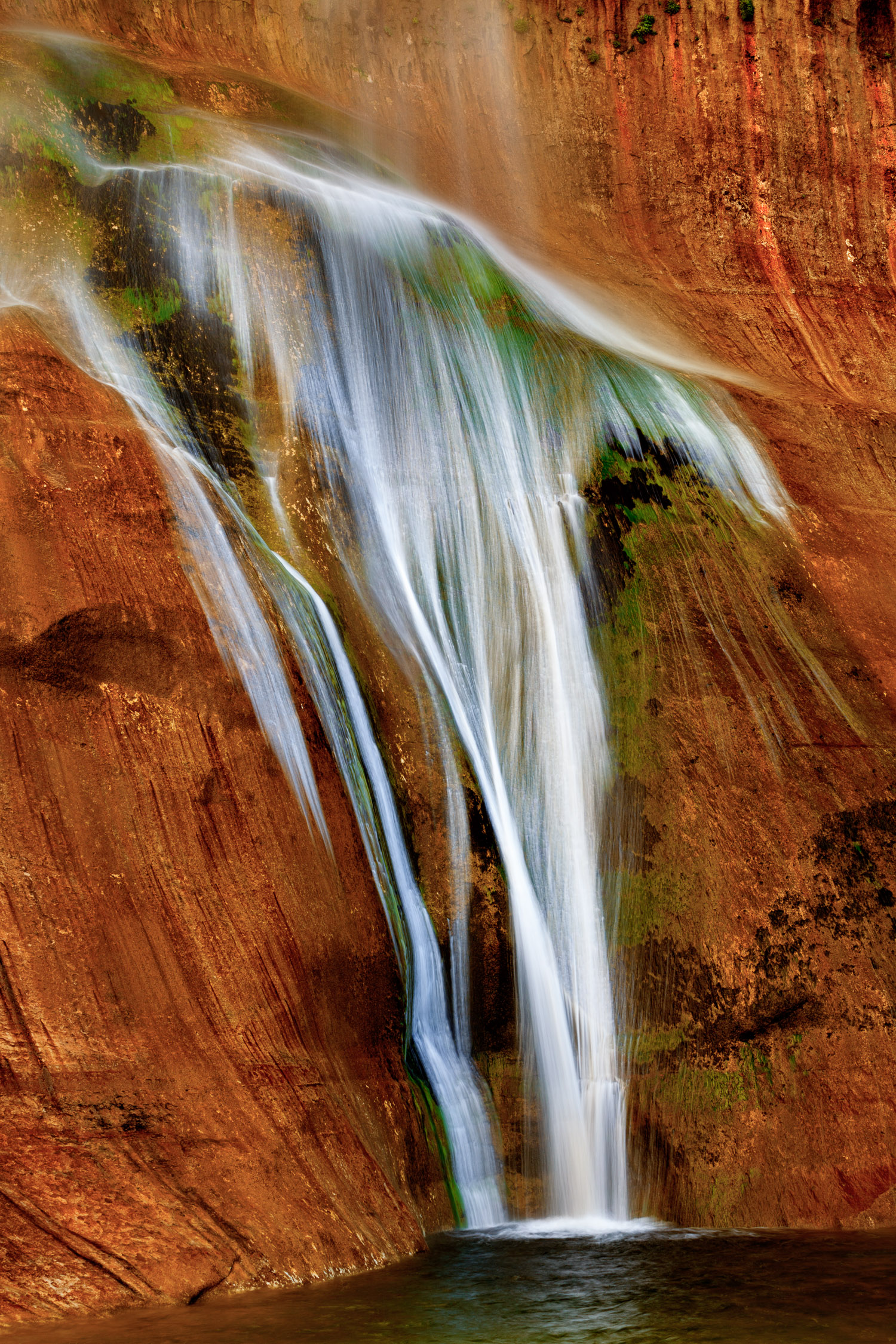 Calf Creek Falls Abstract