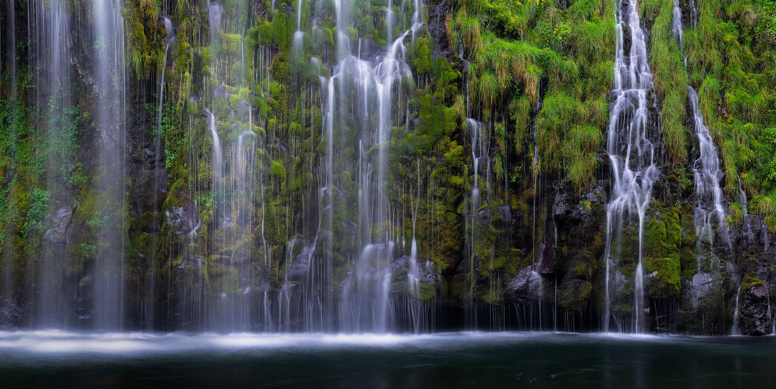 Verdant Mossbrae Falls