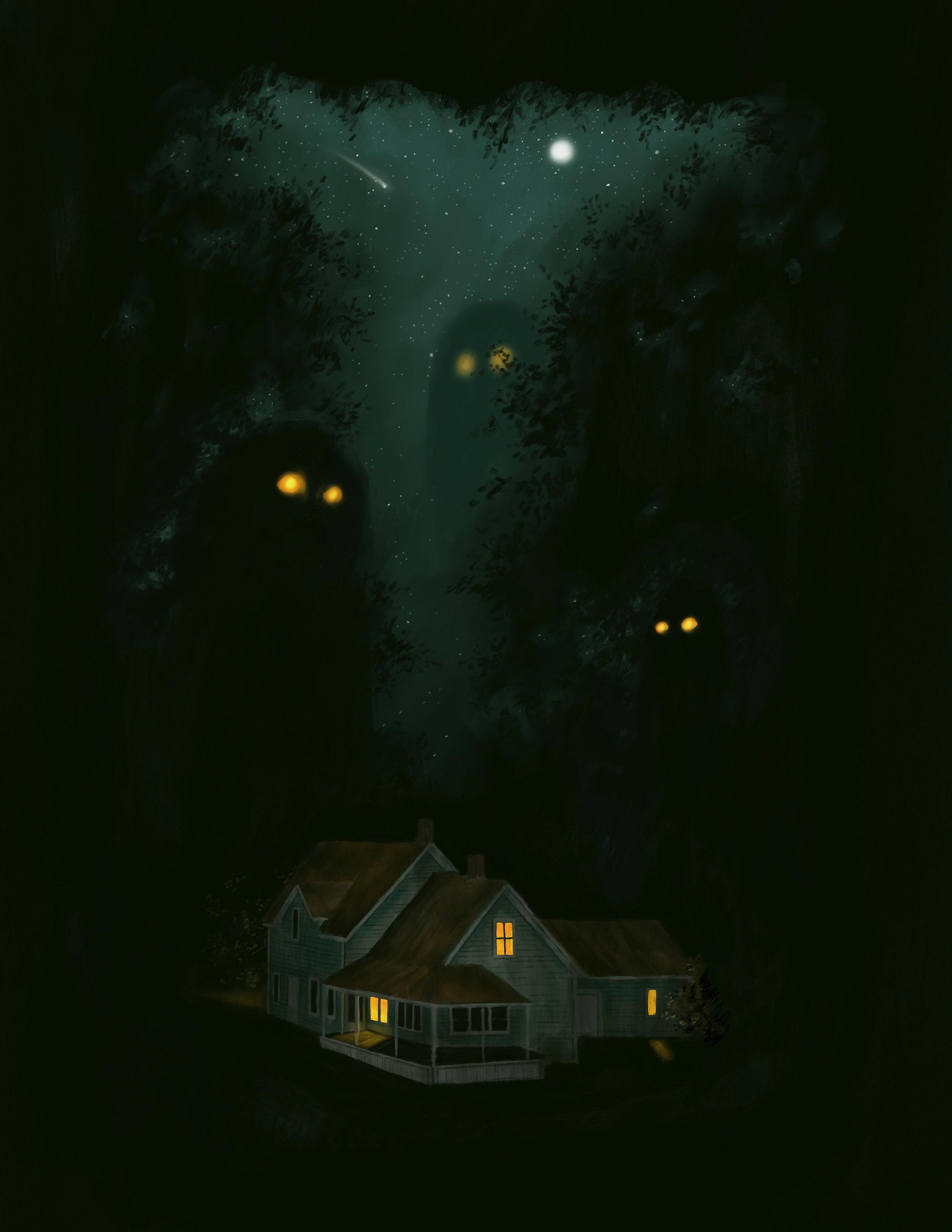 Late night visit