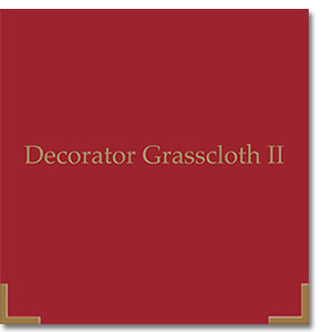 A beautiful collection of designer Grasscloth.