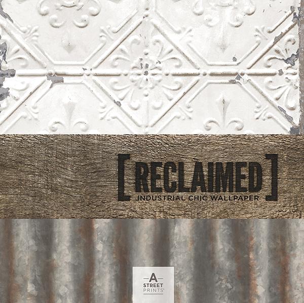 Reclaimed - Industrial Chic Wallpaper