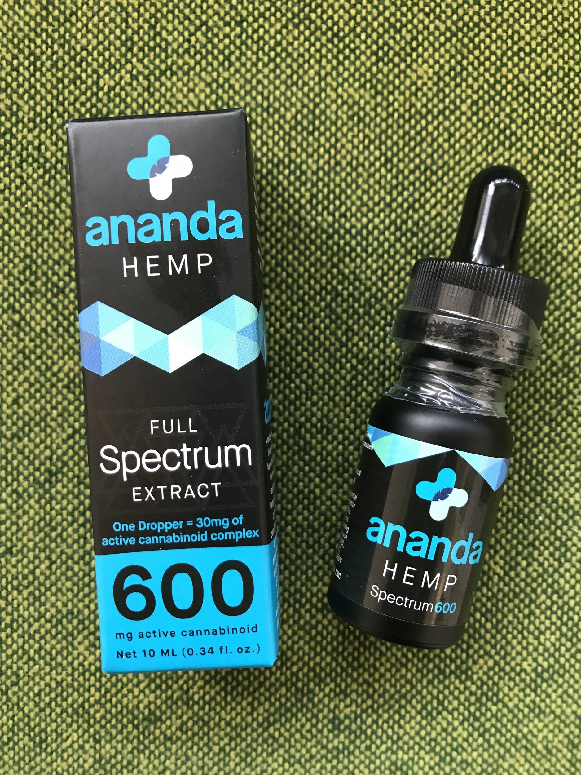 AnandaFull Spectrum600mg - $95.00