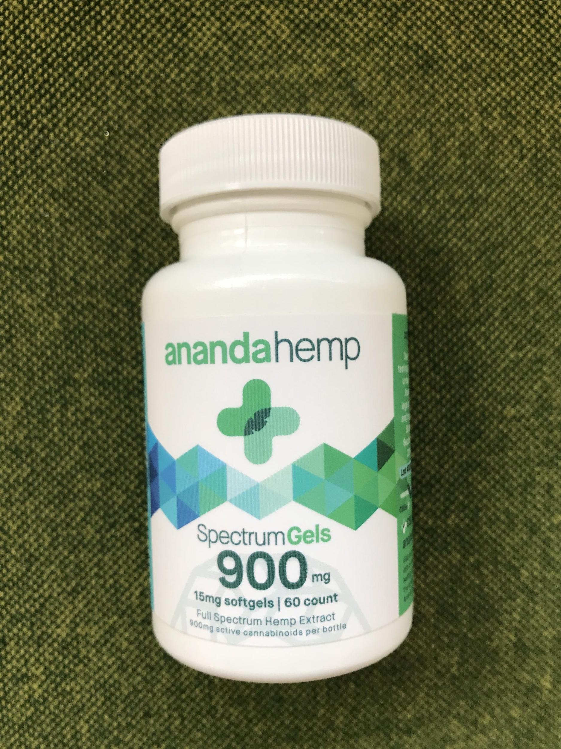 Ananda Spectrum Gels 15mg - $120.00 (60 count)