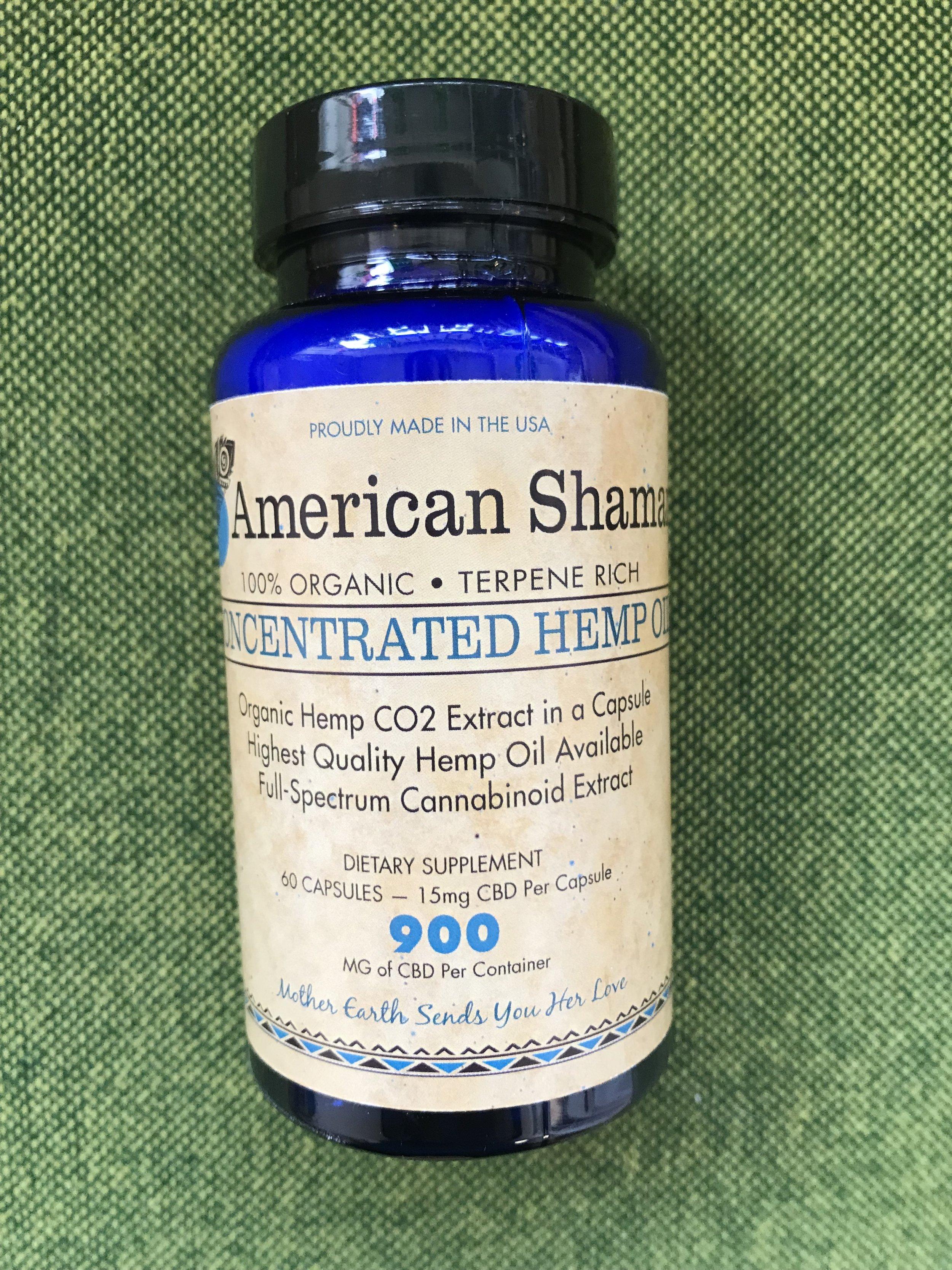 American Shaman Capsules 15mg - $109.99 (60 count)