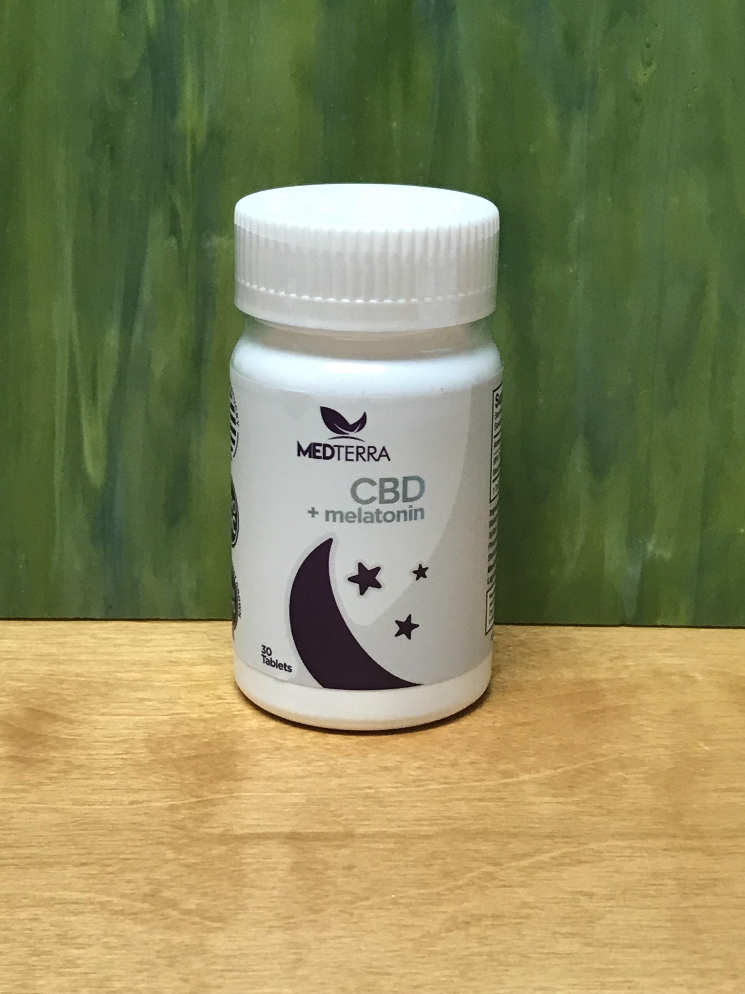 Medterra CBD+Melatonin25mg cbd/10mg melatonin - $69.99 (30 count)