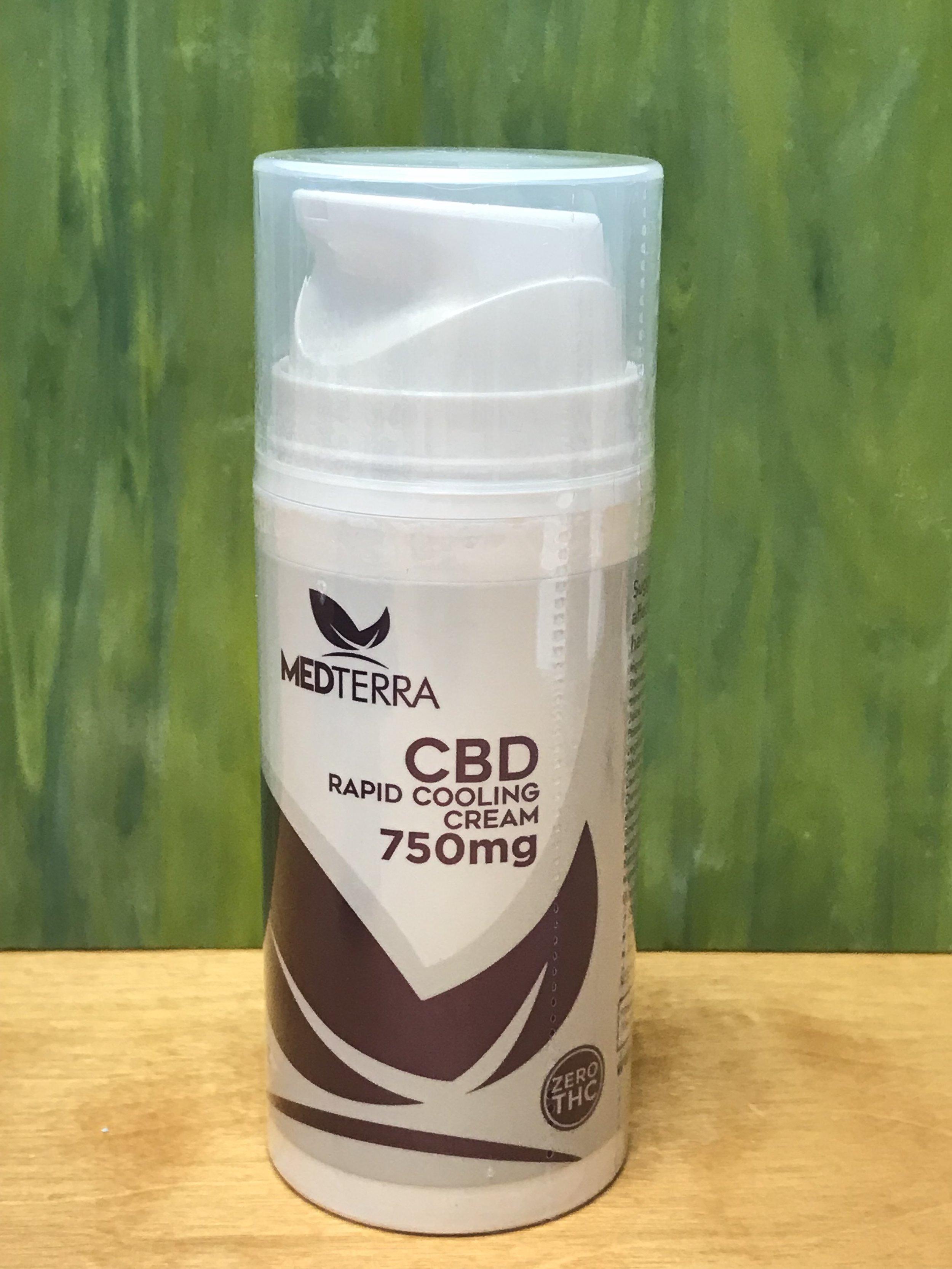 Medterra Cooling Cream 750mg (thc free) - $100.00