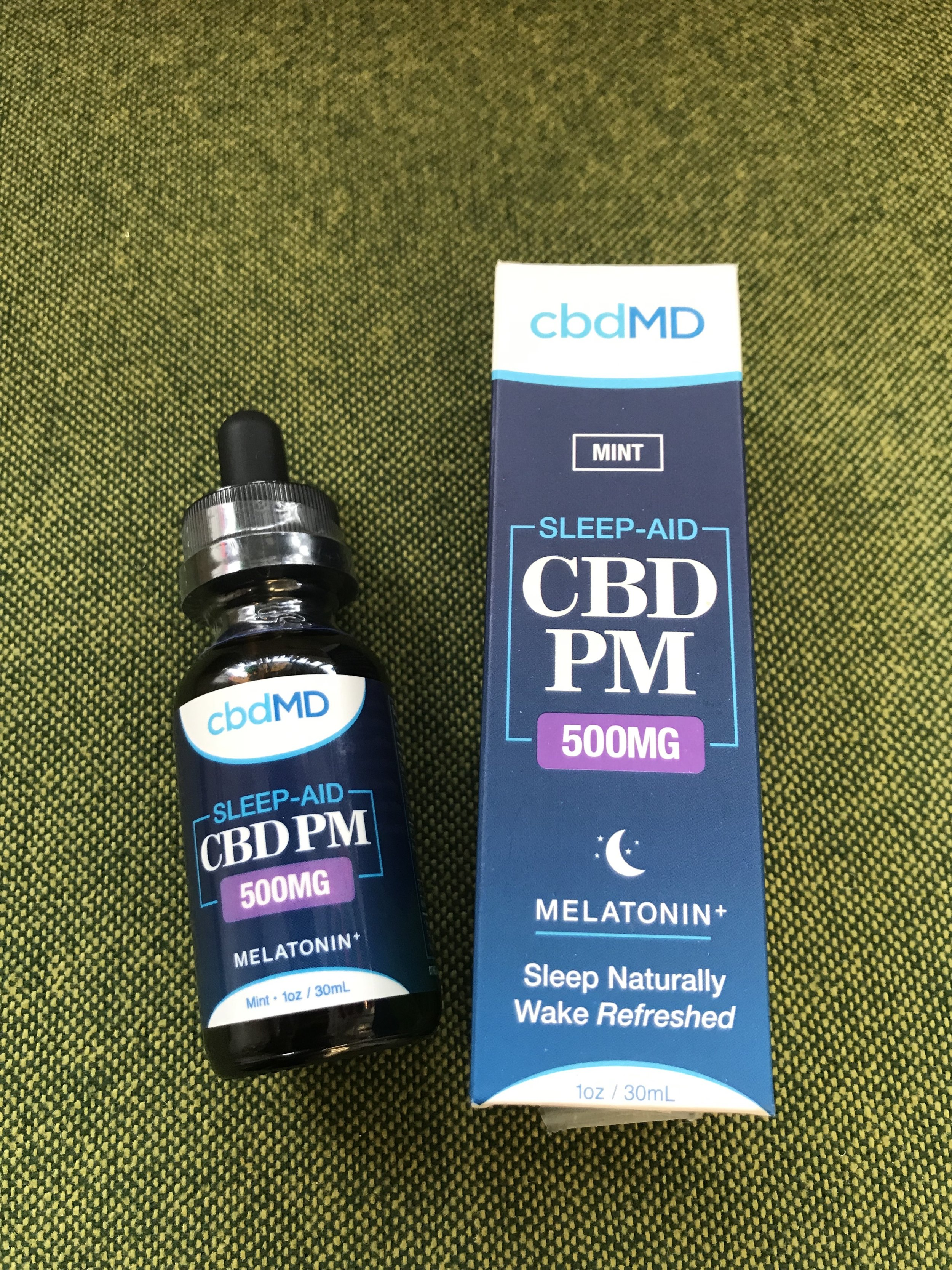 cbdMD PM Sleep Aid 500mg - $55.00