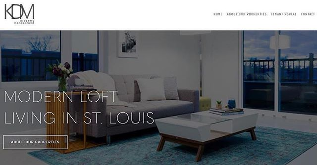 Check out the new website for our parent company, @kdmpropertymanagement1 and then come check out a loft apartment at 4321Grove! — #cityliving #style #contemporary #timeless #openfloorplan #stl #stlouis #modern #loftliving #loftlife #city #city❤️