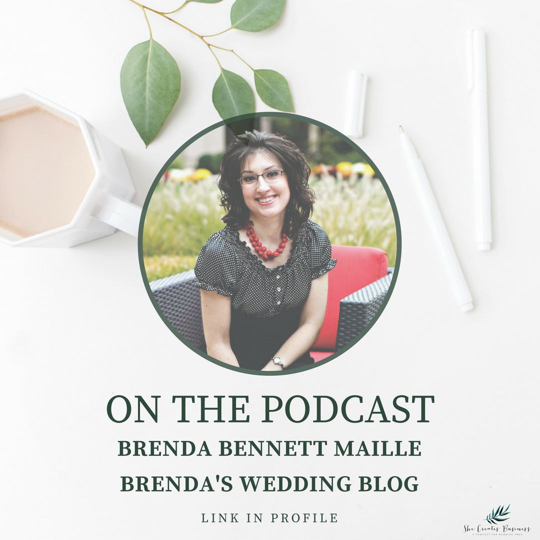 Photo of Brenda Bennett Maile from Brenda's Wedding Blog