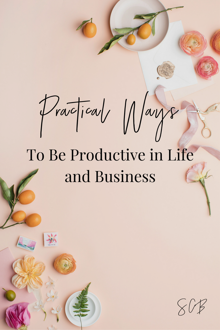 Practical Ways to Be Productive in Life and Business with Tonya Dalton from Inkwell Press