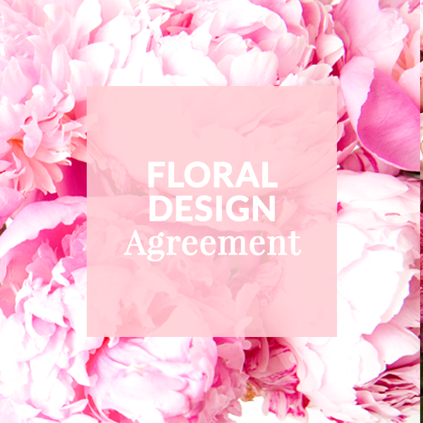 Floral Design Contract Template