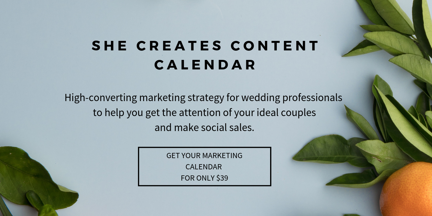 Marketing Plan for a Wedding Business