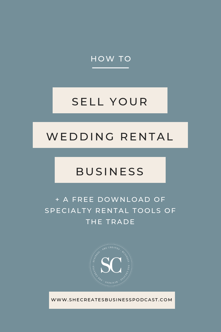 How to Sell a Wedding Rental Business