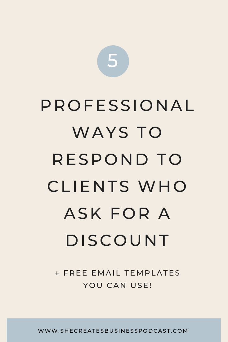 How to Respond to Wedding Clients who Ask for a Discount