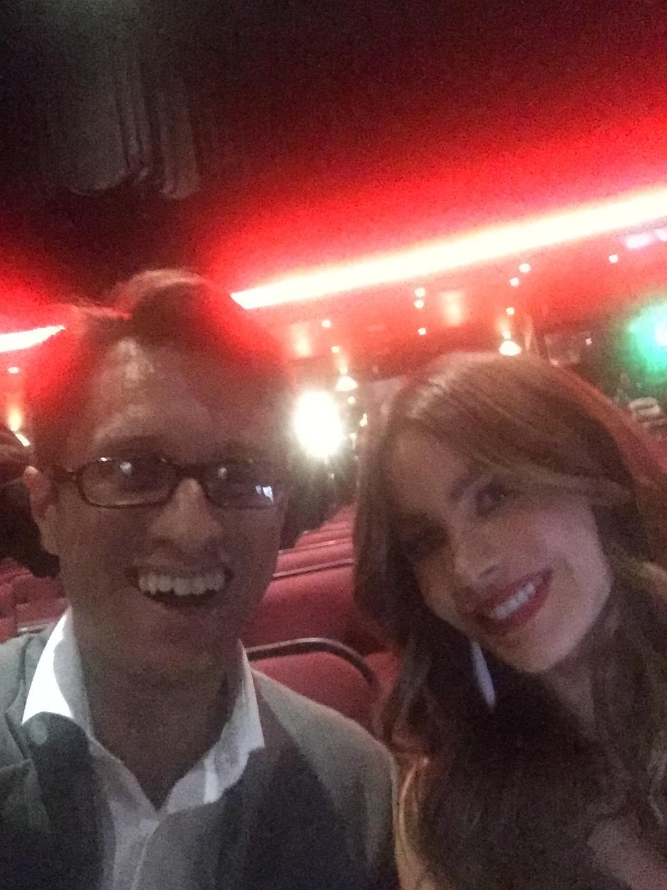 Dan Mangru and Sofia Vergara - Co-Founder of RAZE Media