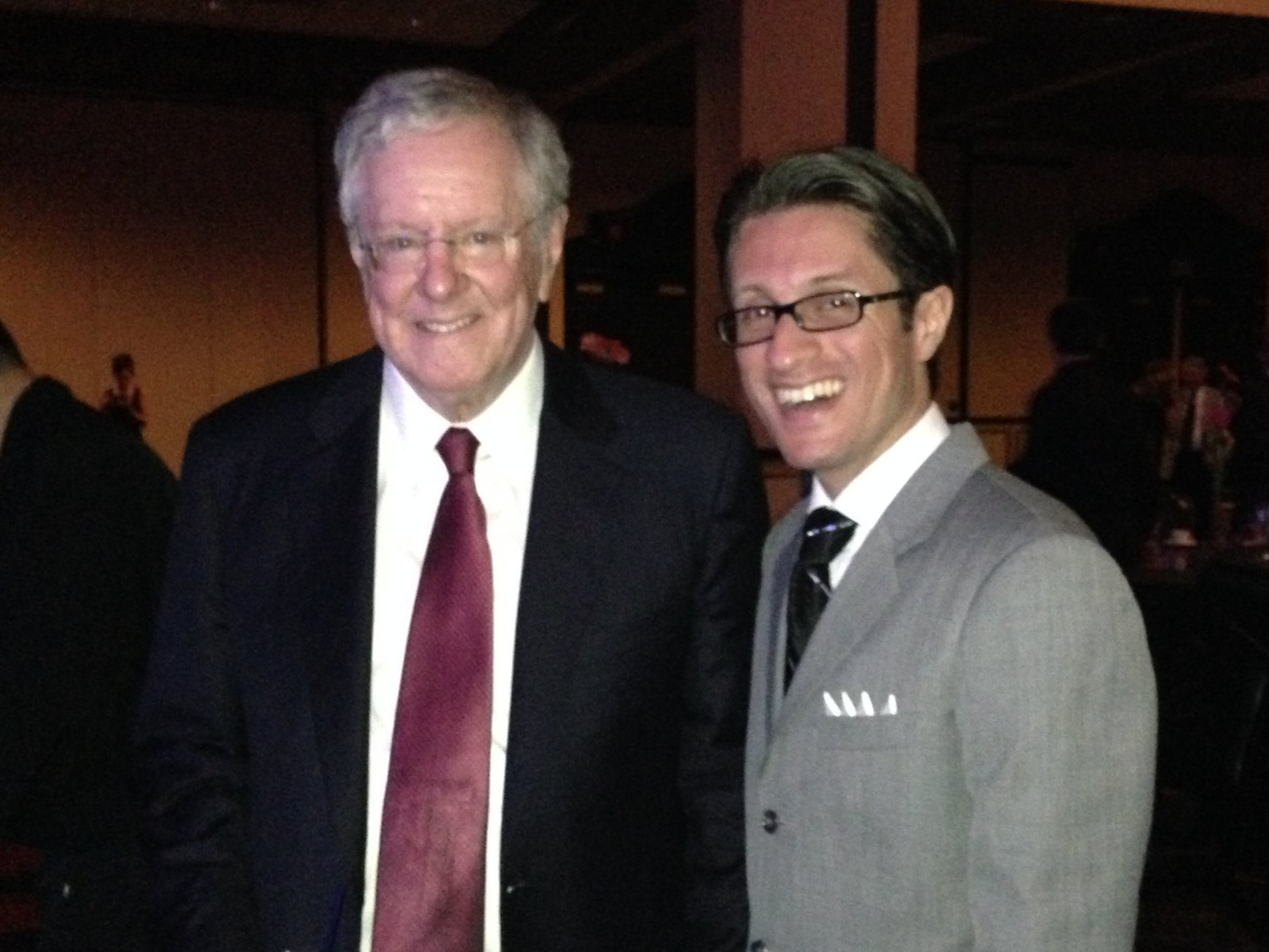 Dan Mangru & Steve Forbes - Chairman of Forbes Media