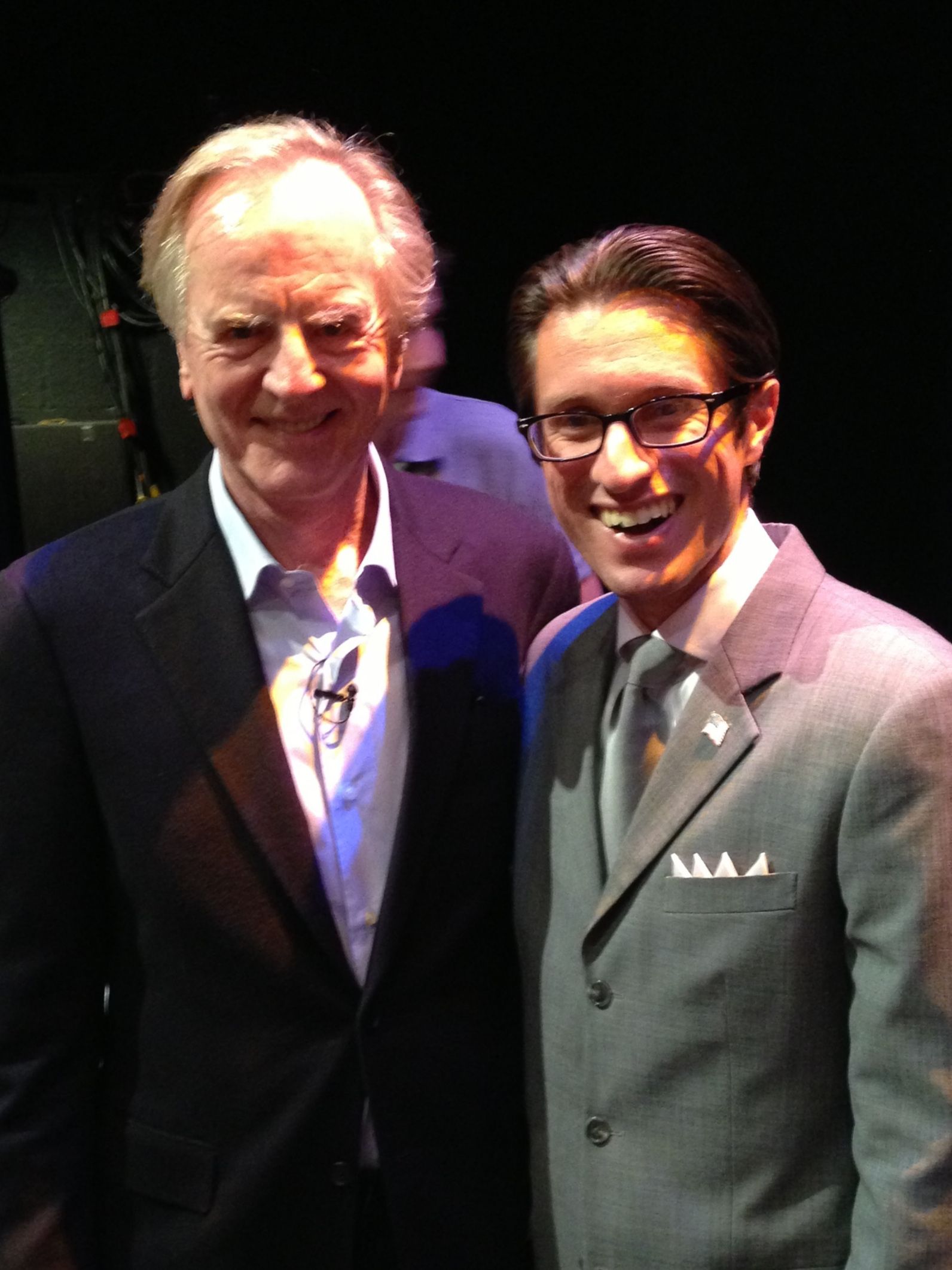 Dan Mangru and John Sculley - Former CEO of Apple and Pepsi