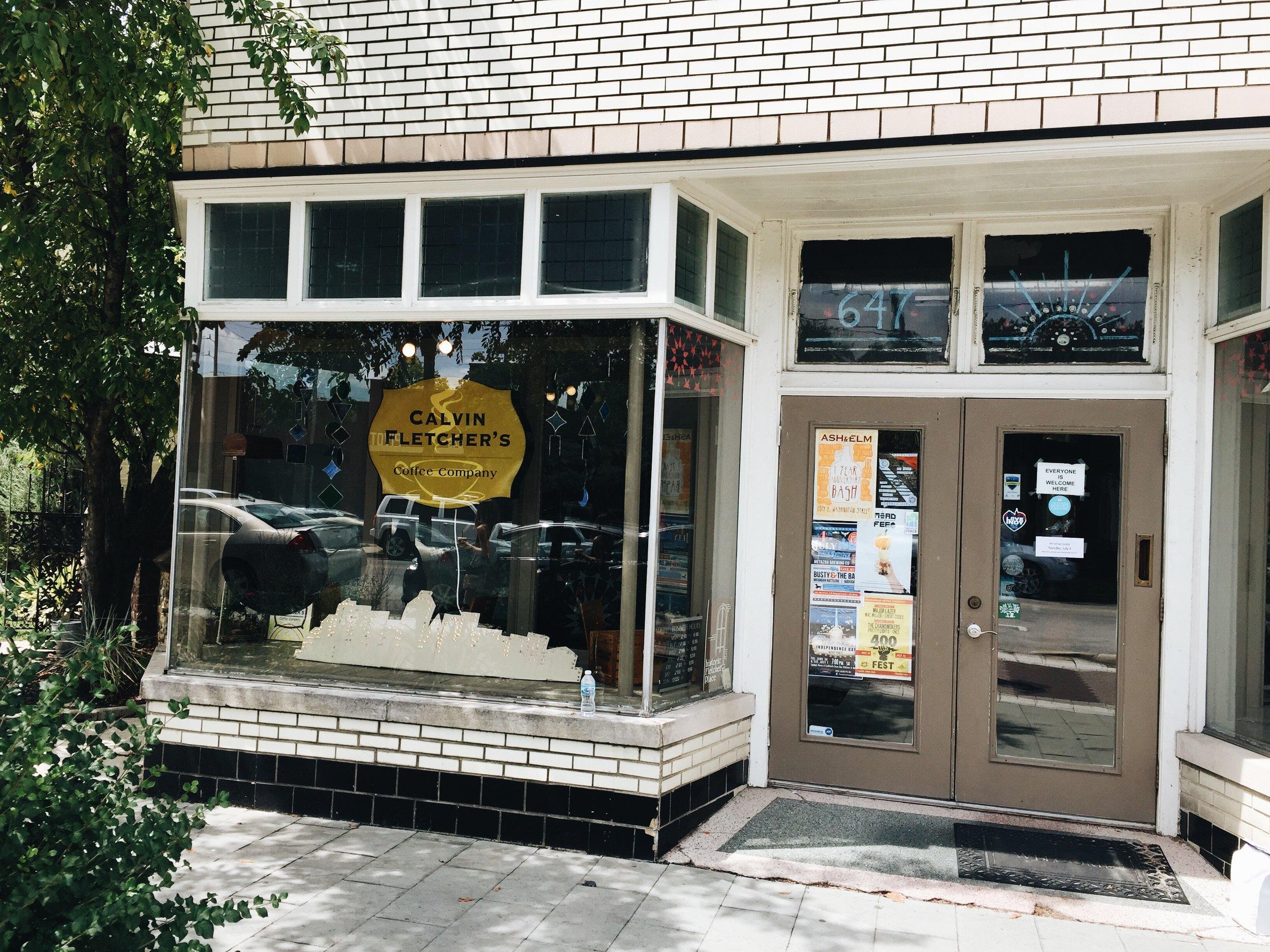 Calvin Fletcher's Coffee Company  -647 Virginia Ave, Indianapolis, IN 46203