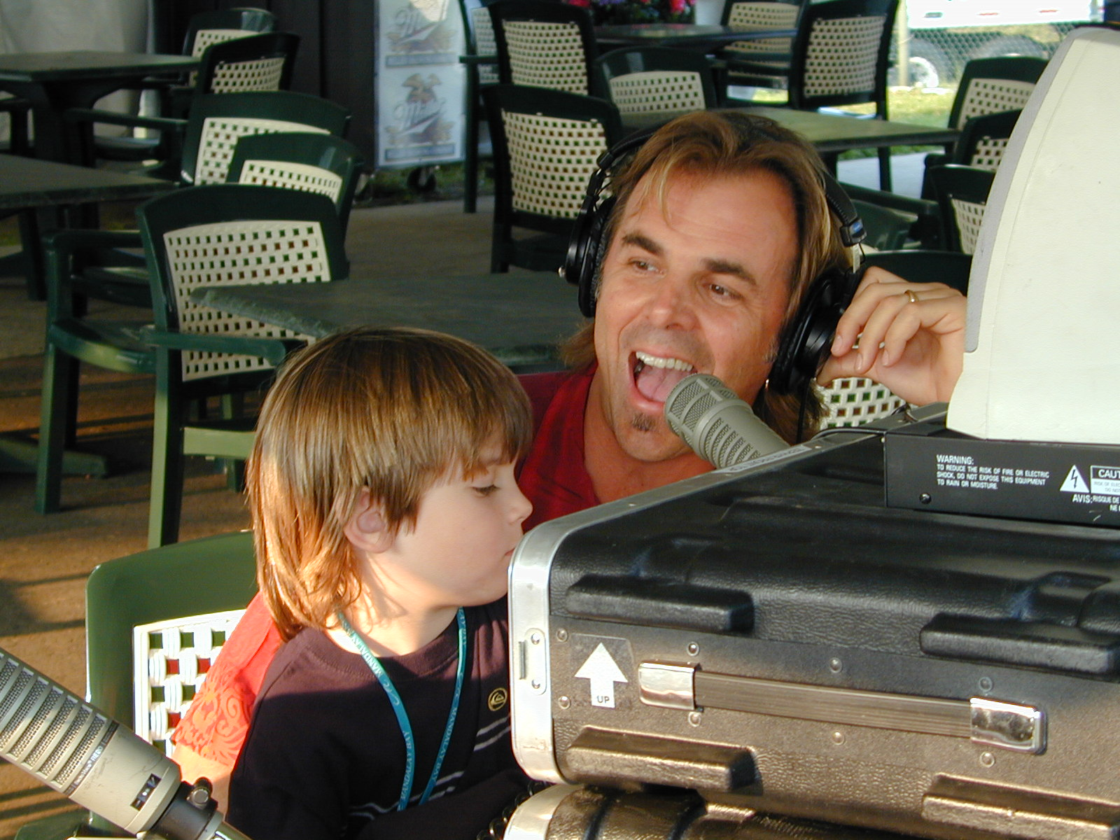 Weston and Jonathan Cain.  Photo by RD Mathers