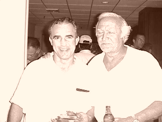 Jay Thomas and Robert Loggia.  Photo by RD Mathers.
