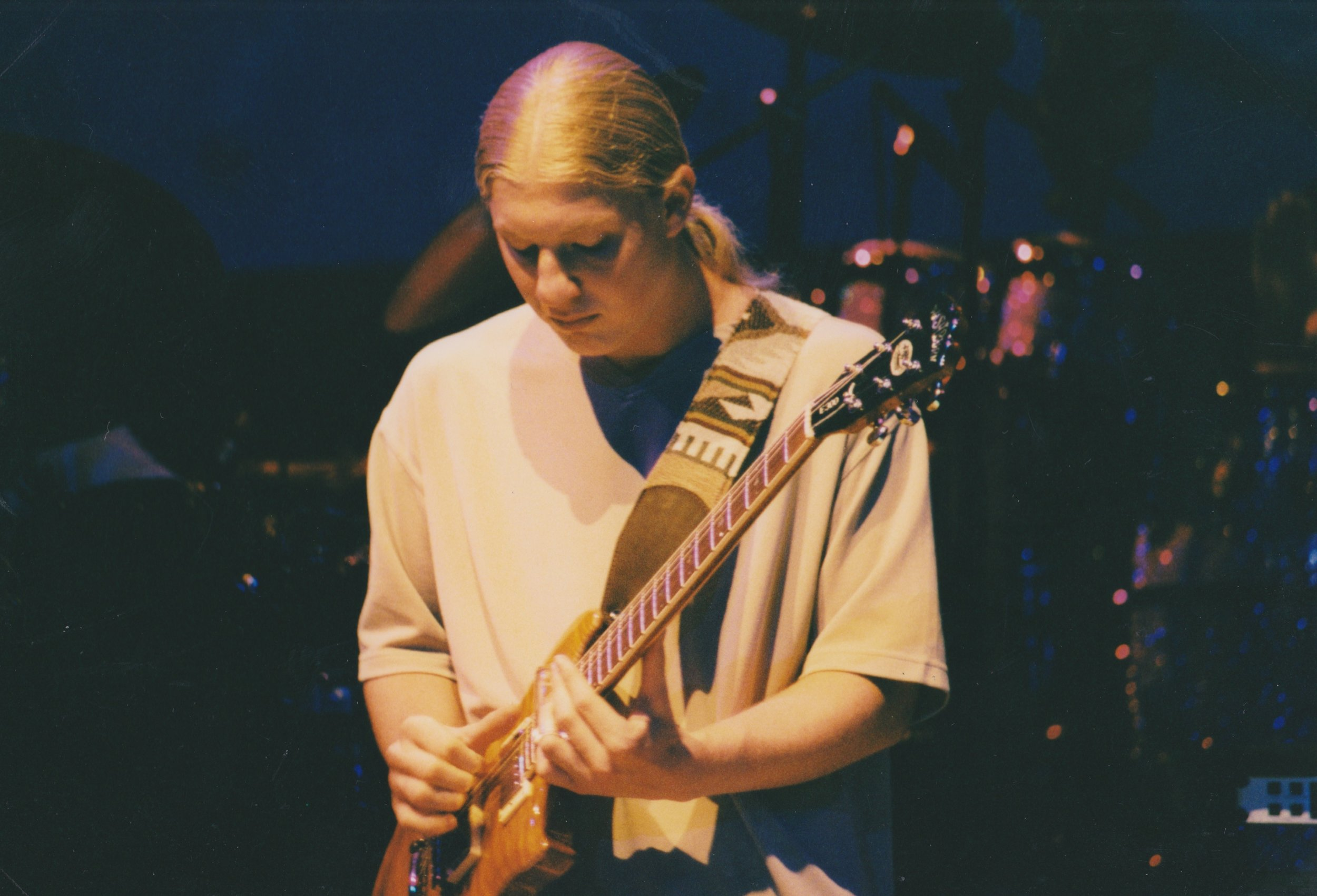 Derek Trucks.  Photo by RD Mathers