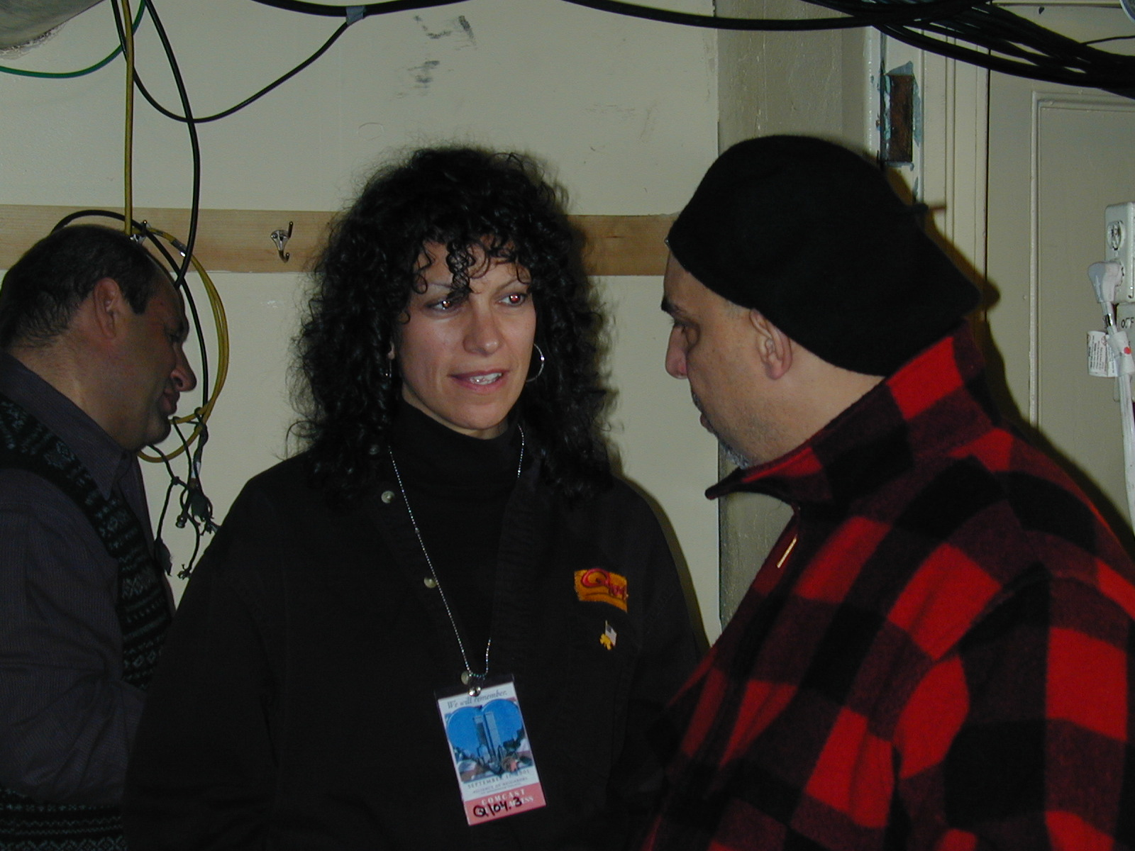 Maria and the late Pat Dinuzzio.