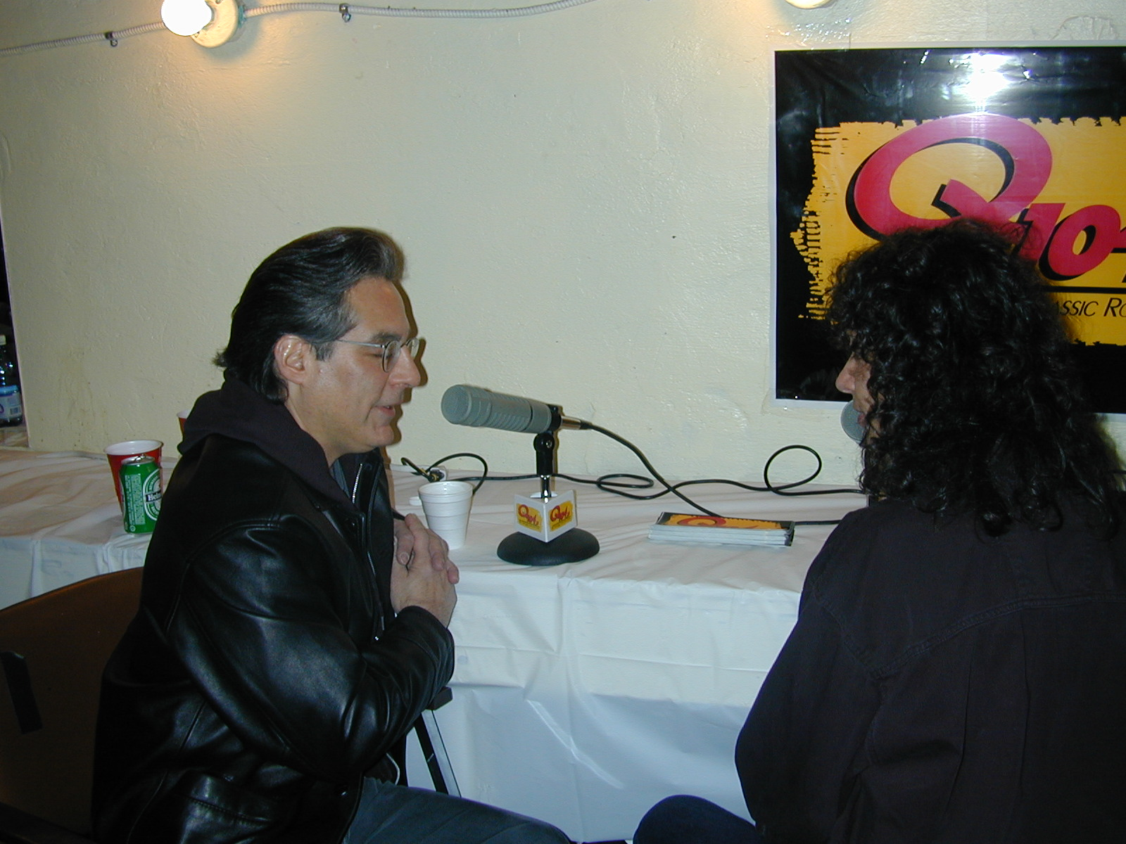 Max Weinberg with Maria Milito.  Photo by RD Mathers