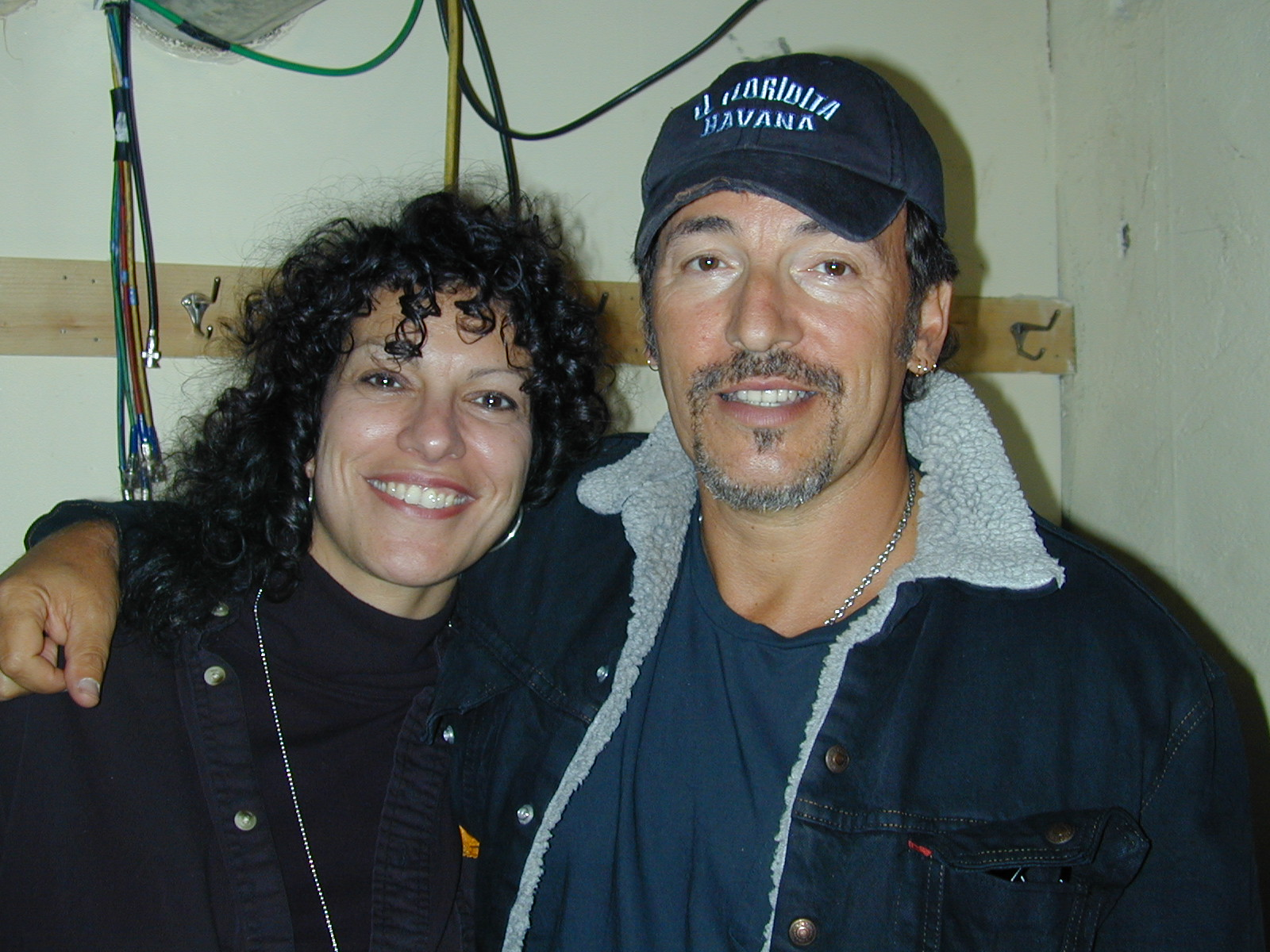 Bruce Springsteen with Maria Milito.