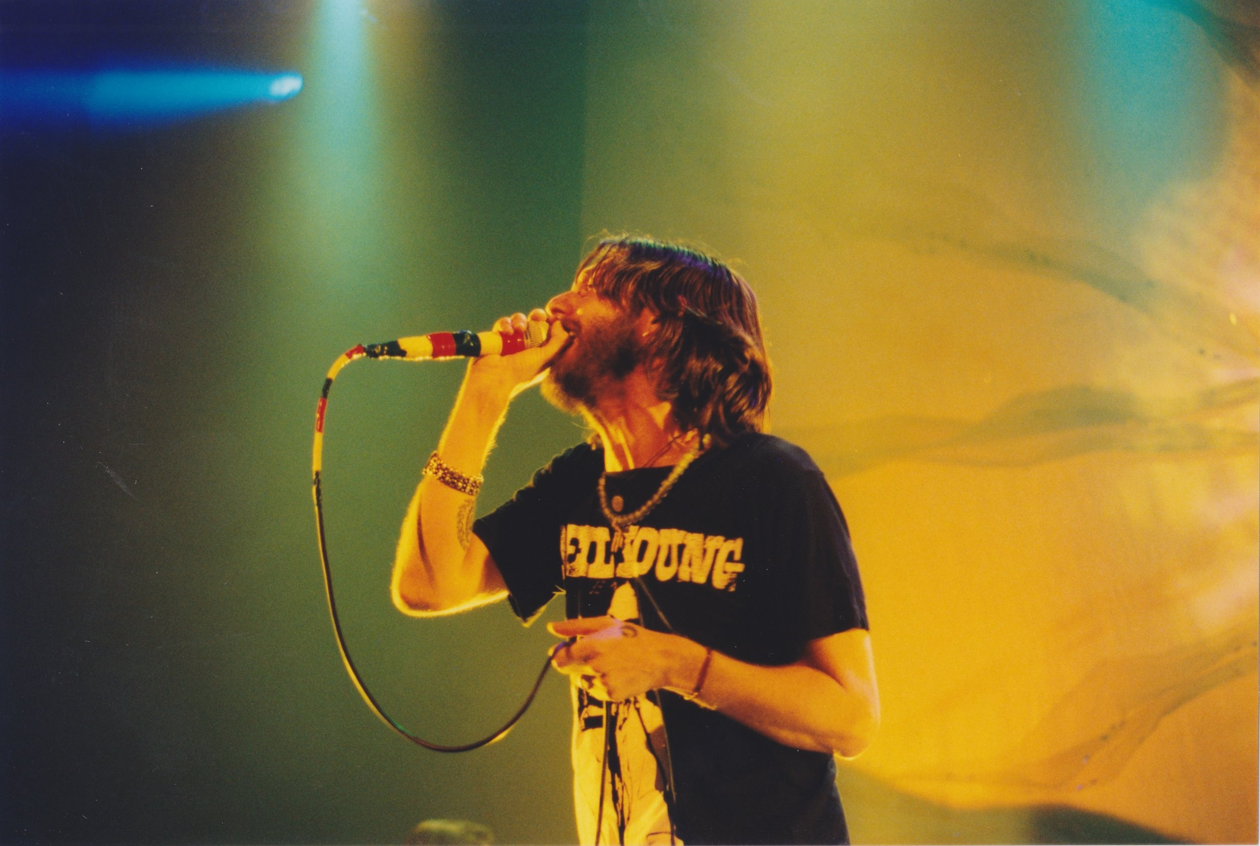 Chris Robinson. Photo by RD Mathers