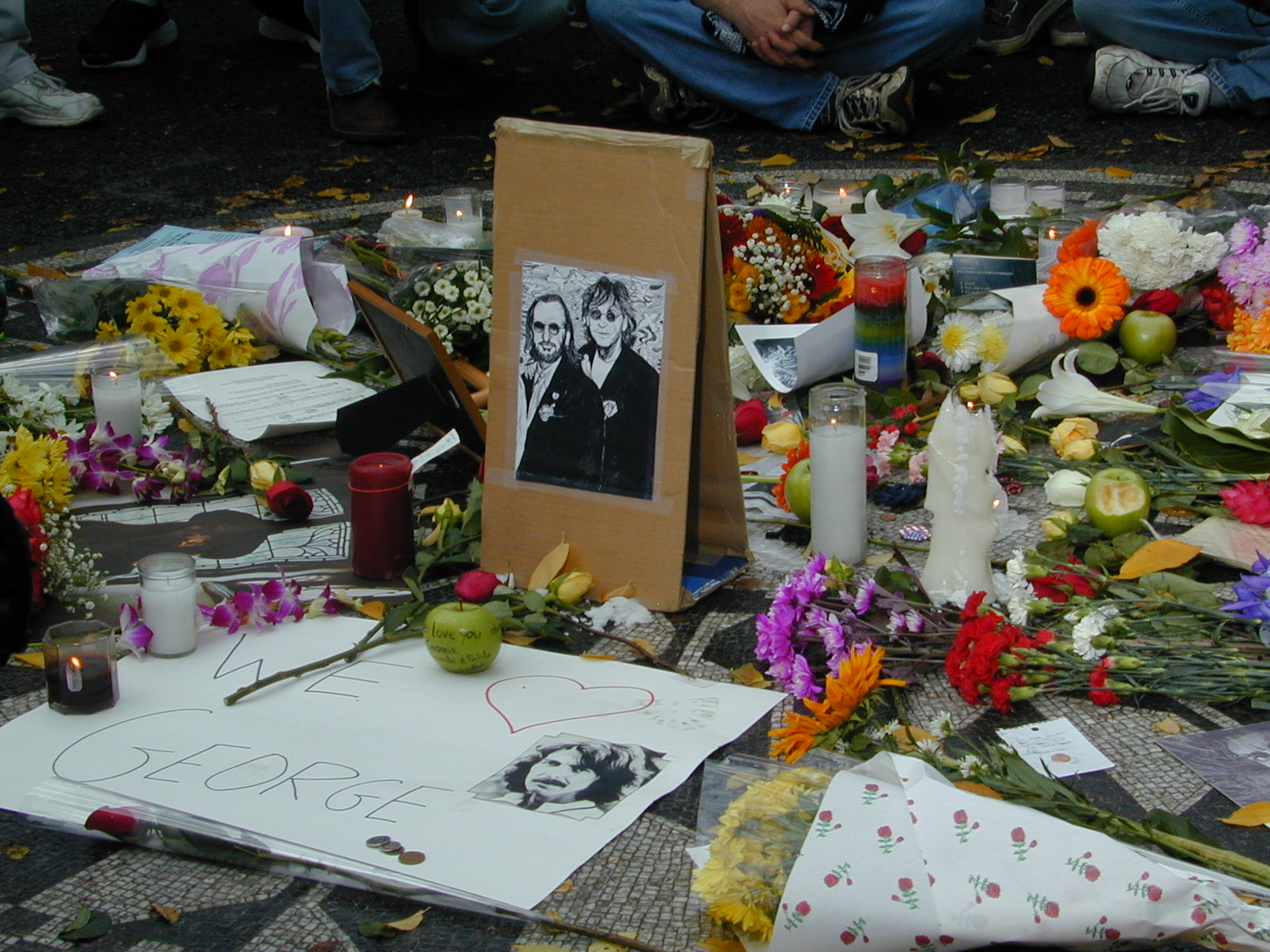 George Harrison Memorial. Photo by RD Mathers