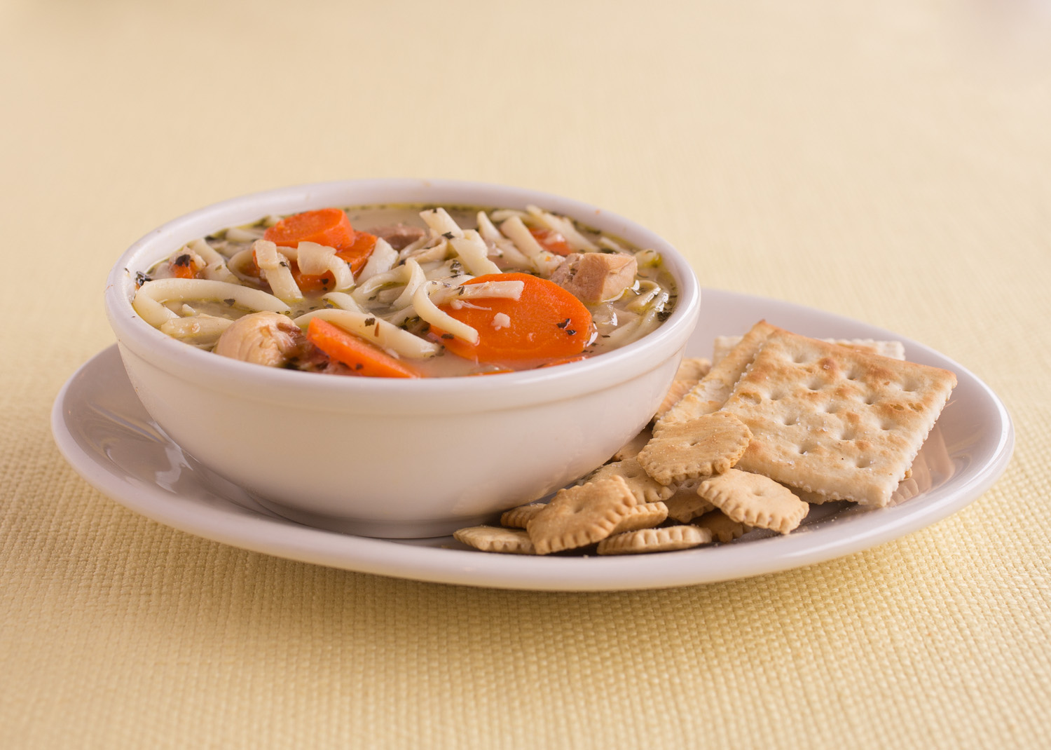 Chicken Soup - classic chicken soup with rice or noodles
