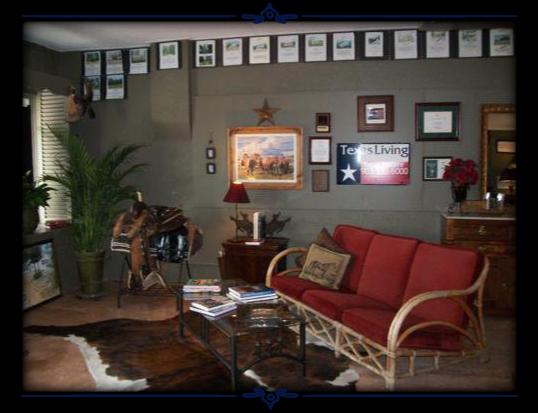 Texas Living Real Estate - Interior Office