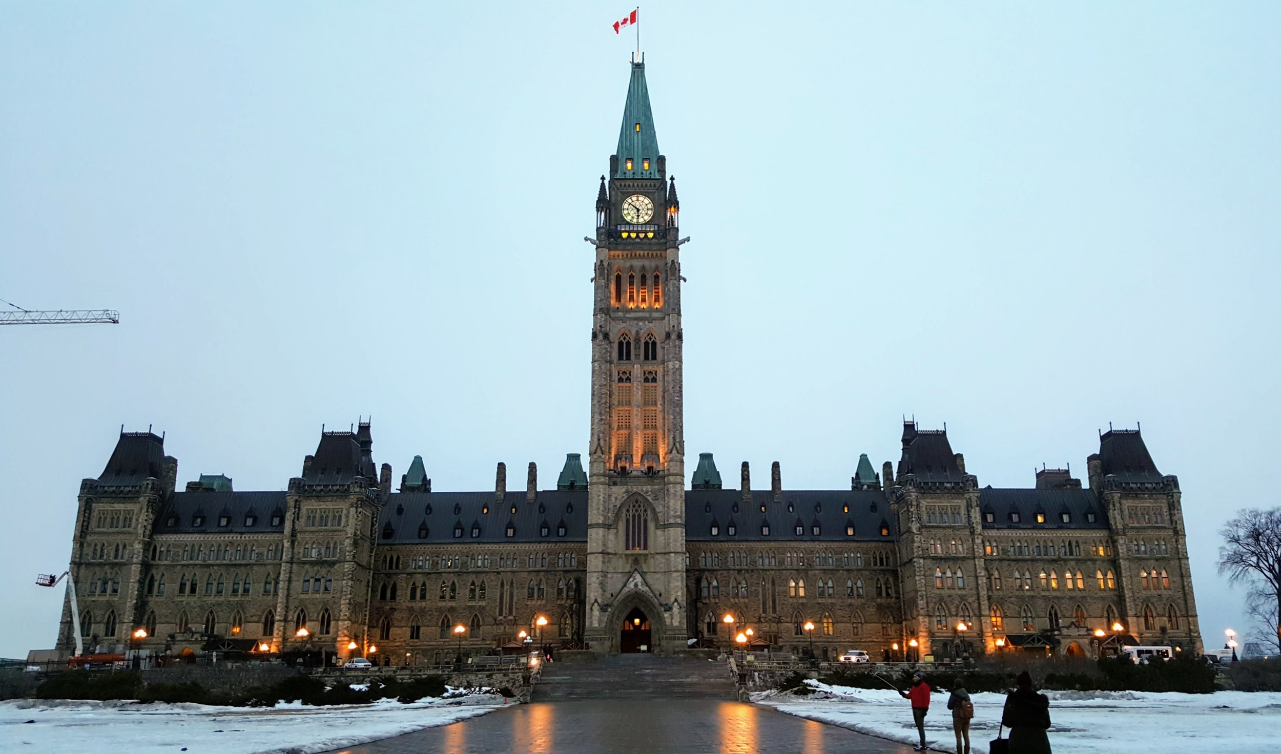 Parliament Building in Ottawa