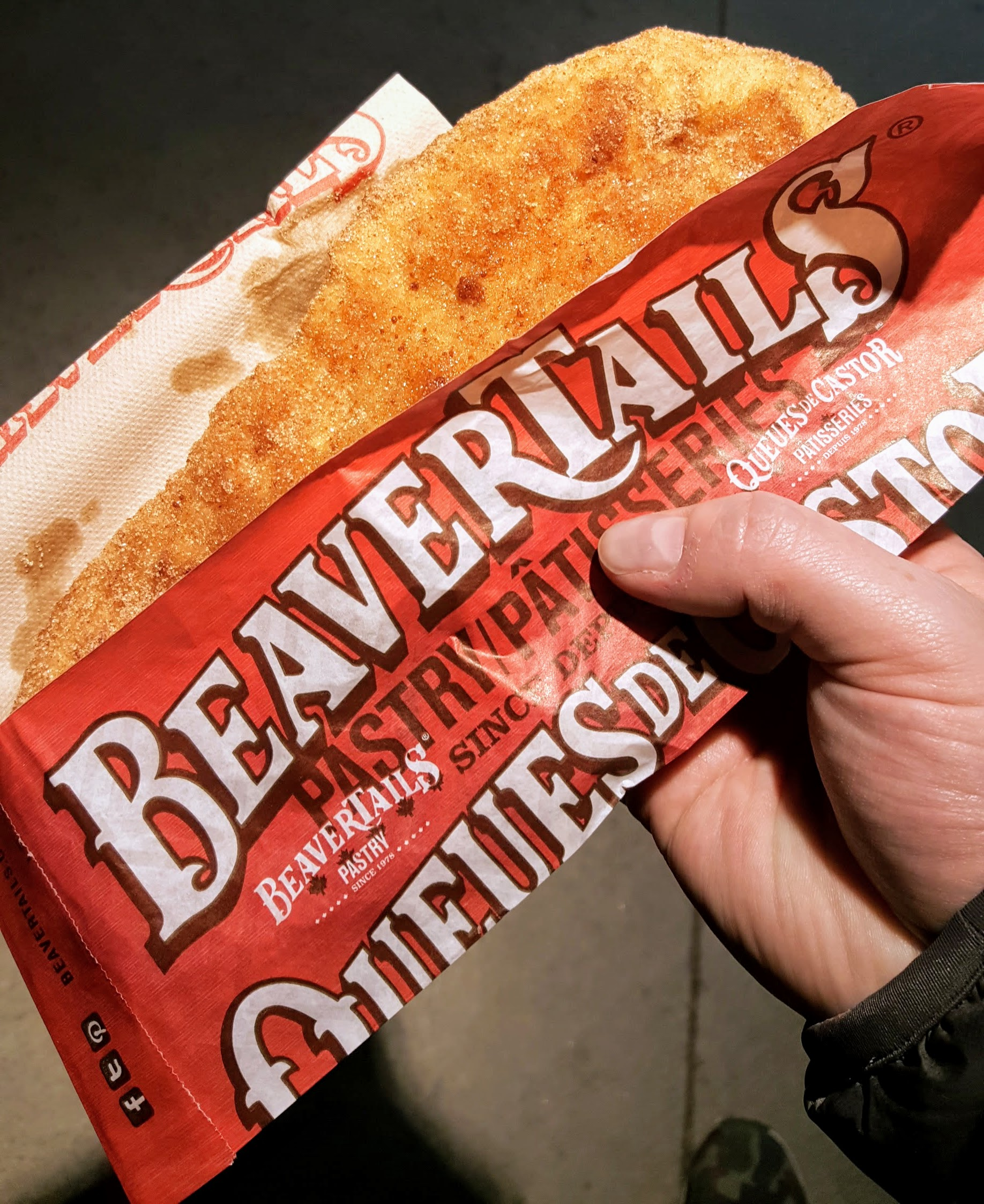 Beavertails... a must-have when in Ottawa.