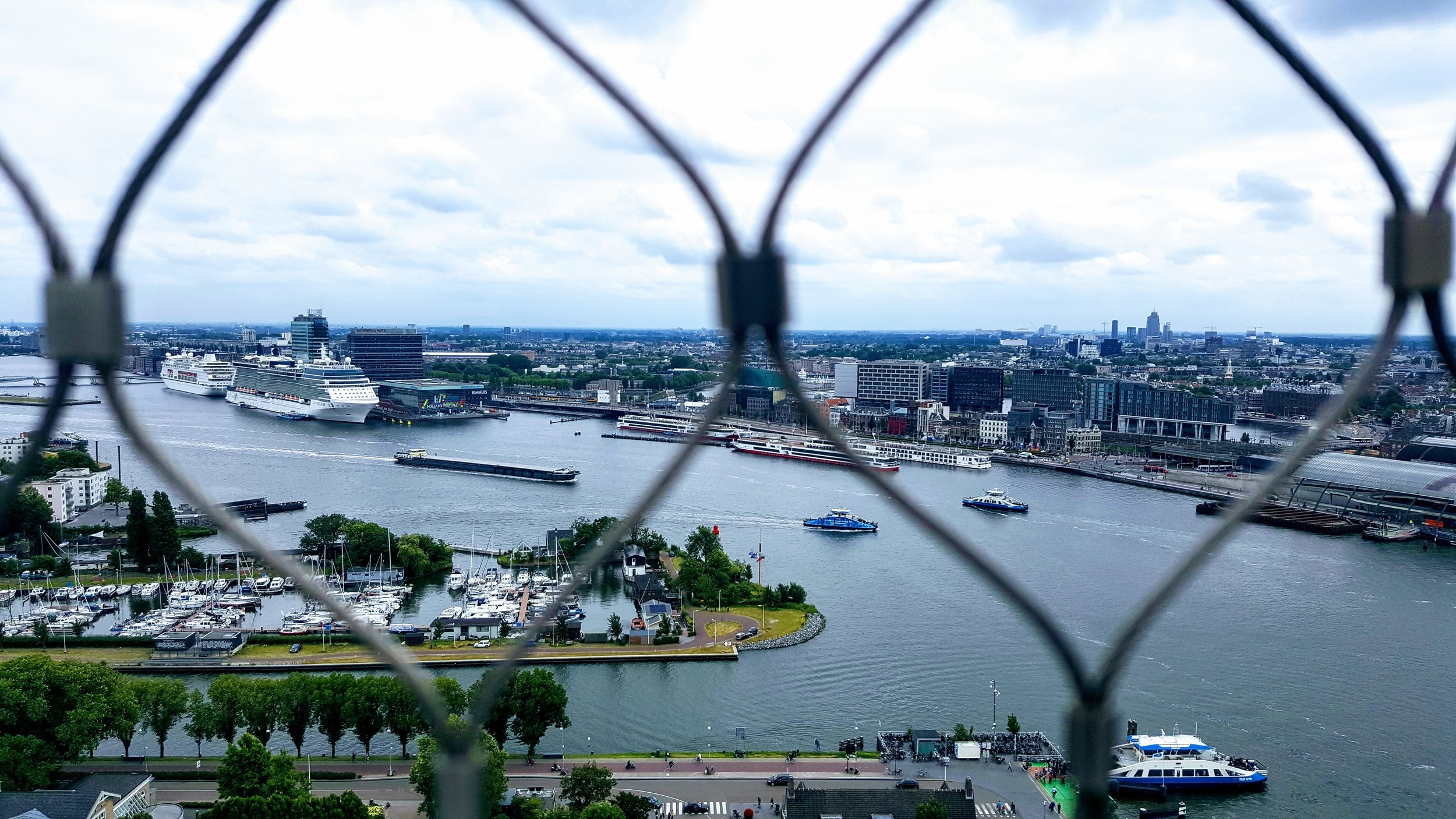 Atop A'DAM Lookout