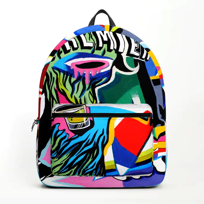 """PREMIER""BACKPACK - - Standard unisex size: 17.75"" (H) x 12.25"" (W) x 5.75"" (D)- Crafted with durable spun poly fabric for high print - quality- Interior pocket fits up to 15"" laptop- Padded nylon back and bottom- Adjustable shoulder straps- Front pocket for accessories"