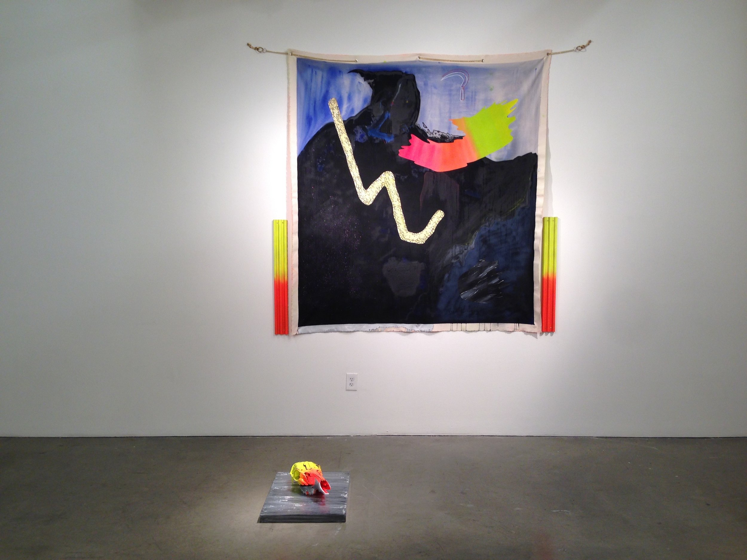 (2nd place painting/ Siri) Siri West installation 2014