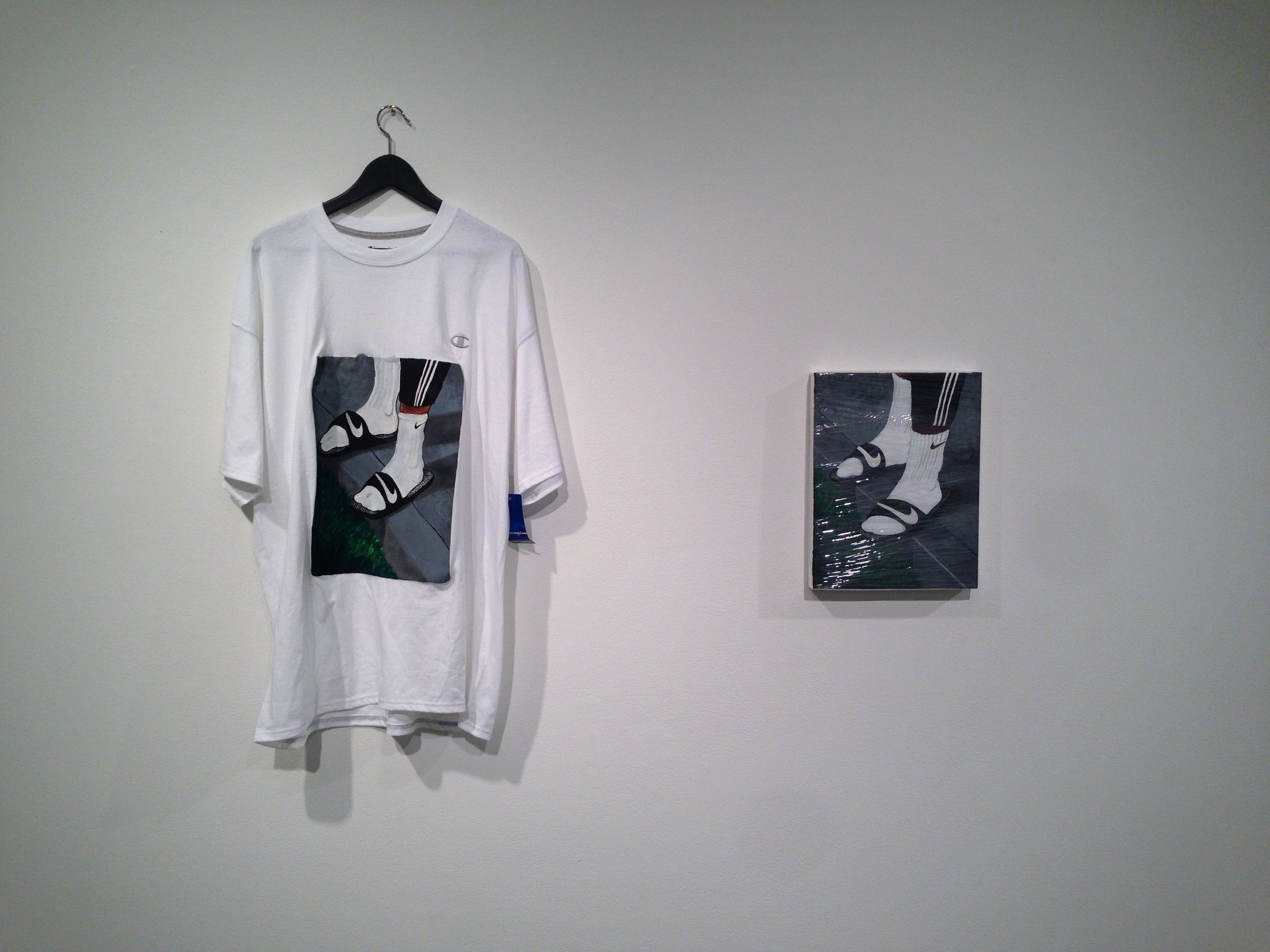 (The Precipice T/ The Precipice) Siri West installation 2014