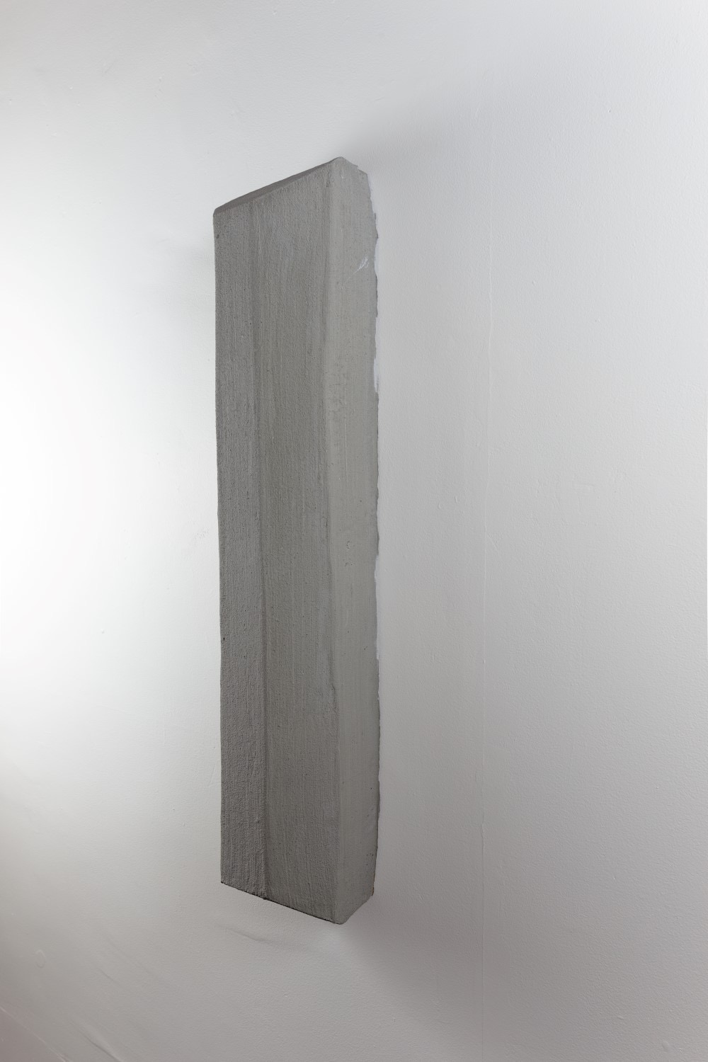 Parking Block   concrete, foam, & wood glue  36 x 6 x 6  2016