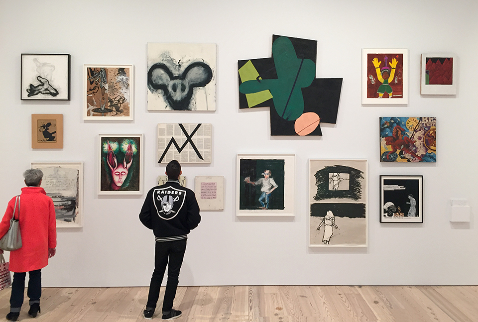 Installation view: Fast Forward: Painting From the 1980s at the Whitney Museum of American Art, New York. Photo: Jason Andrew